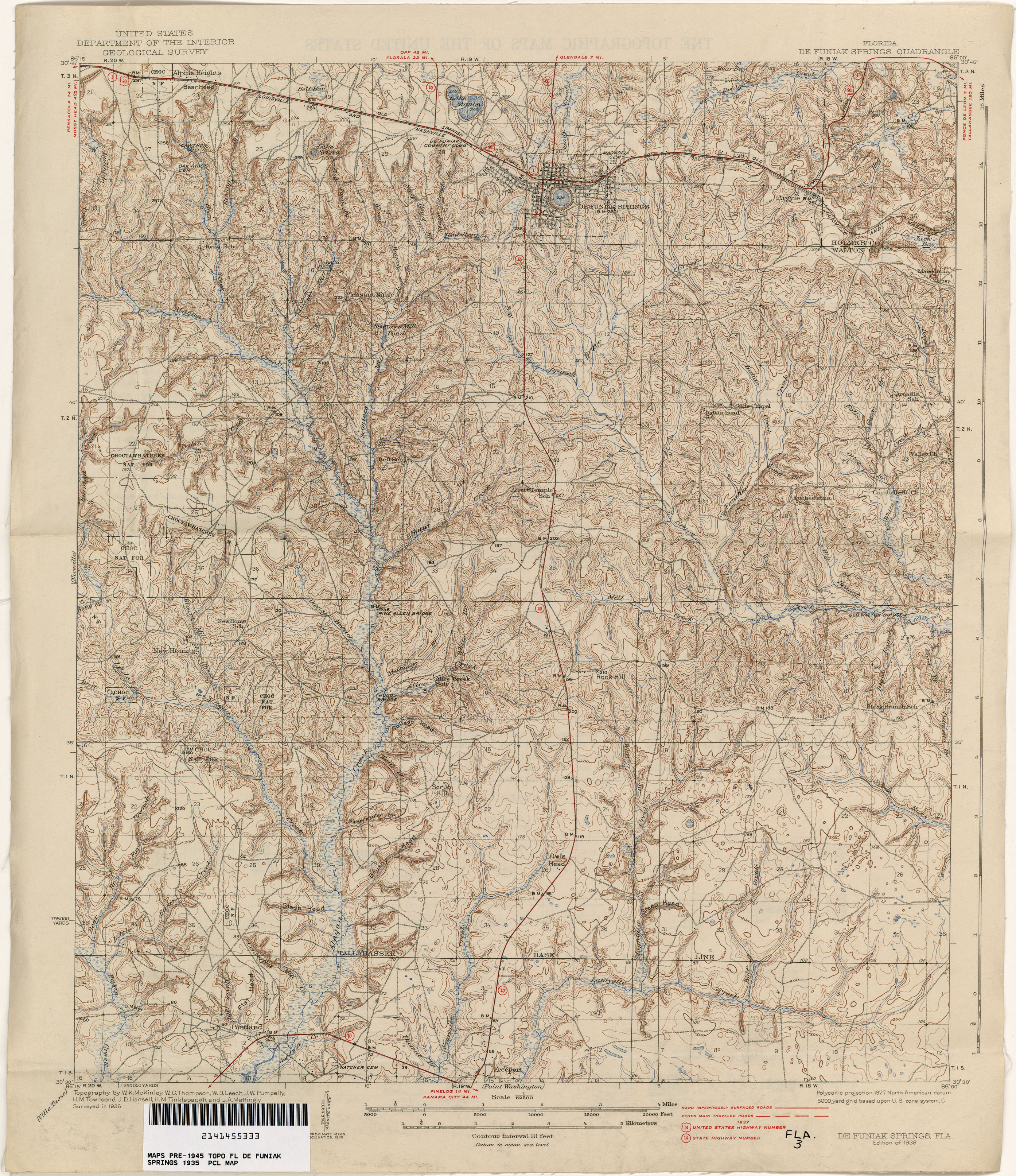 Map Of Springs In Florida.Florida Historical Topographic Maps Perry Castaneda Map Collection