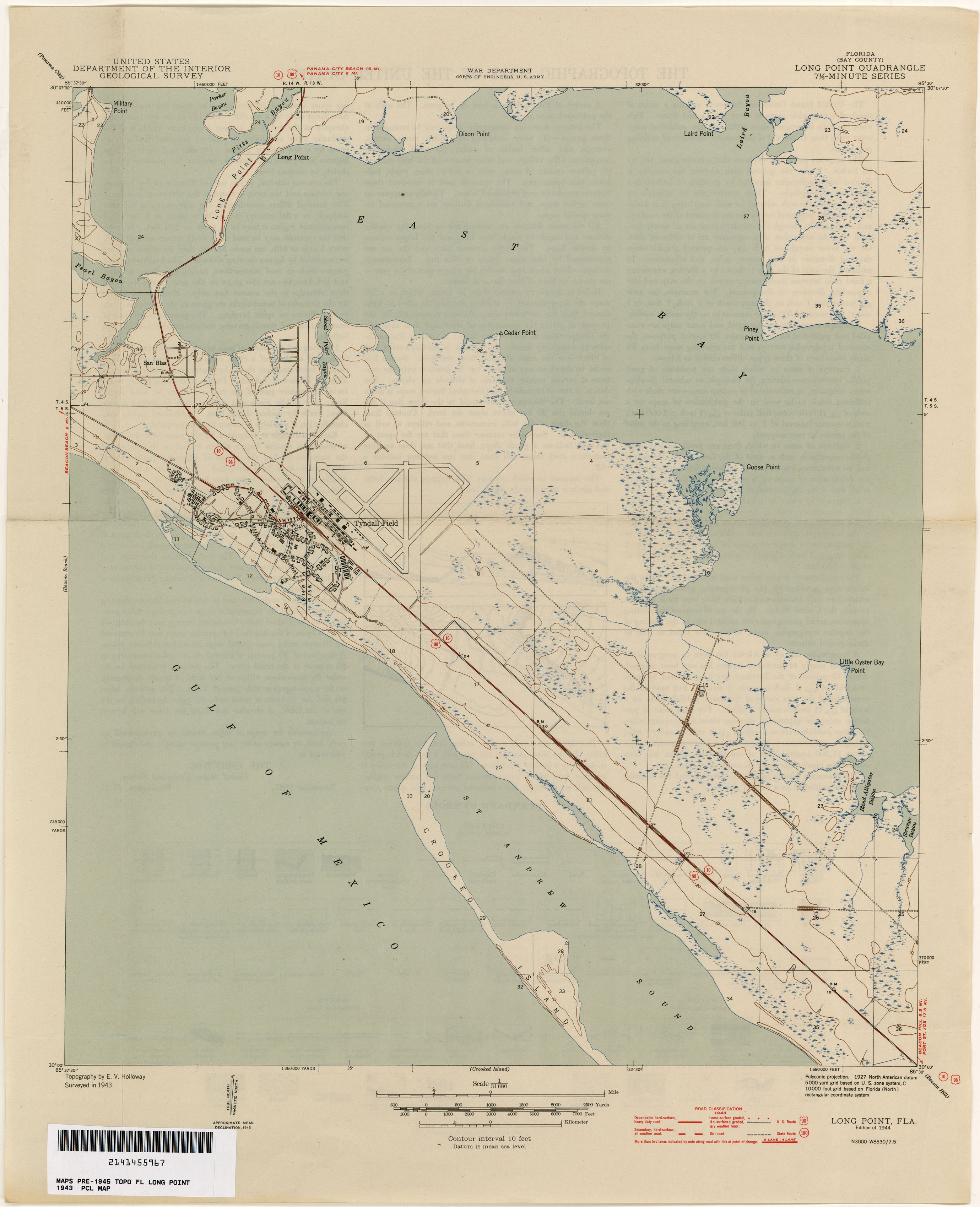Florida Historical Topographic Maps - Perry-Castañeda Map ...