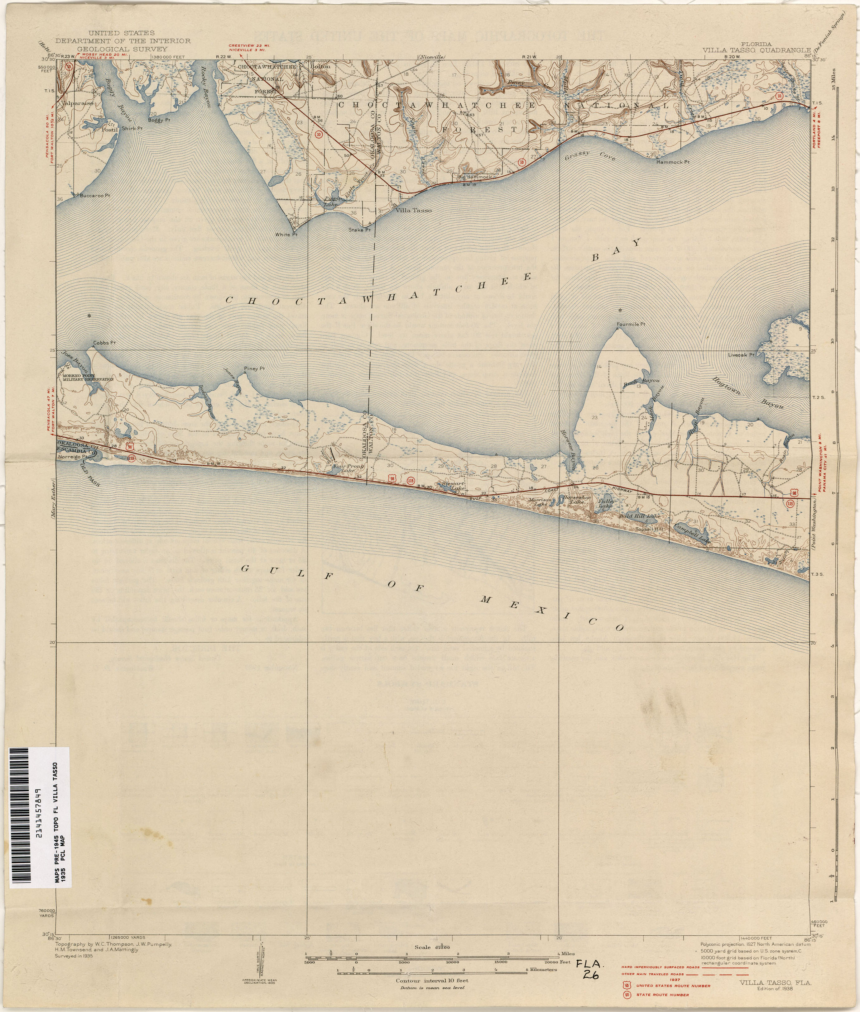 Holt Florida Map.Florida Historical Topographic Maps Perry Castaneda Map Collection