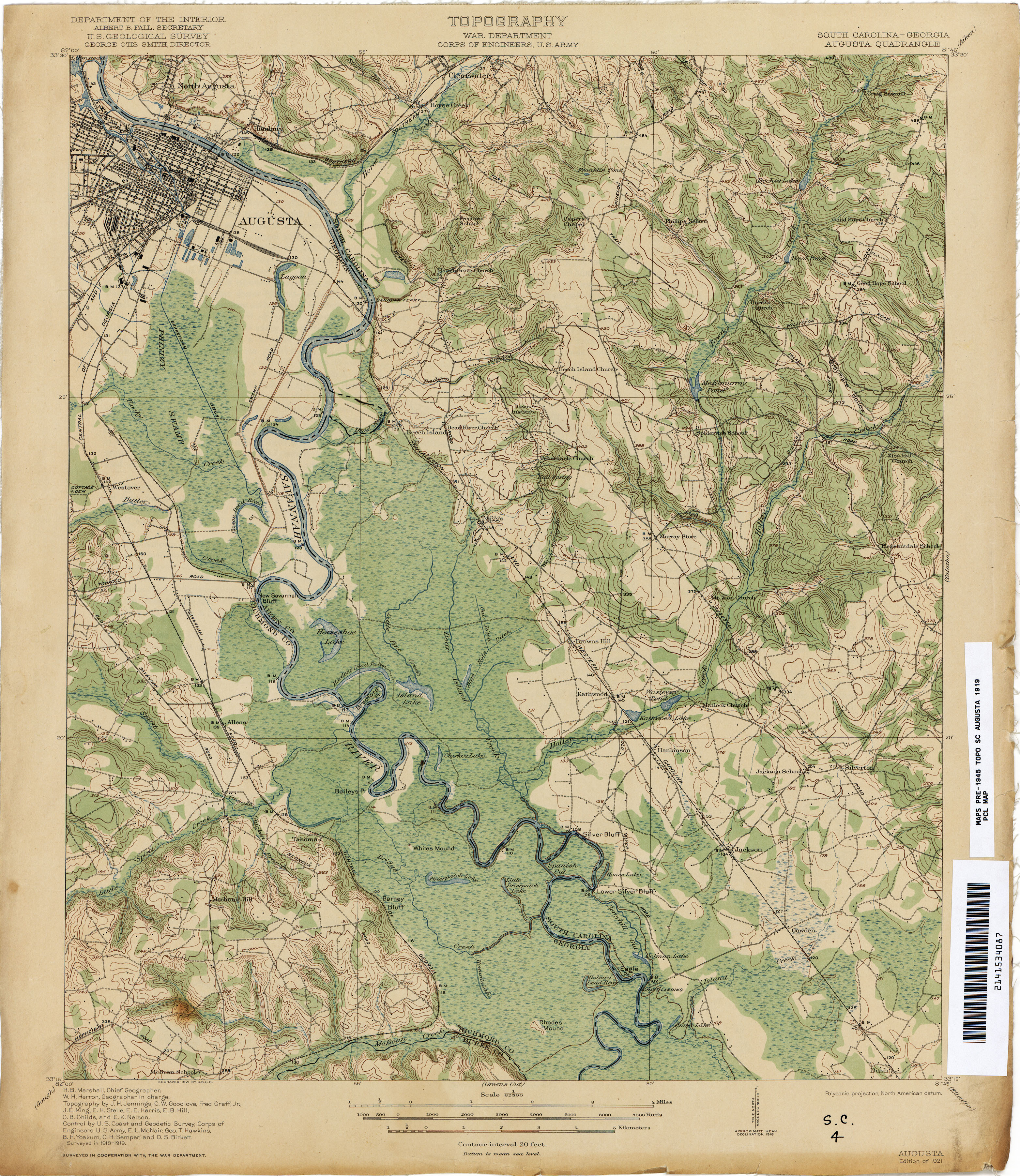 Georgia Historical Topographic Maps PerryCastañeda Map - Map of south ga