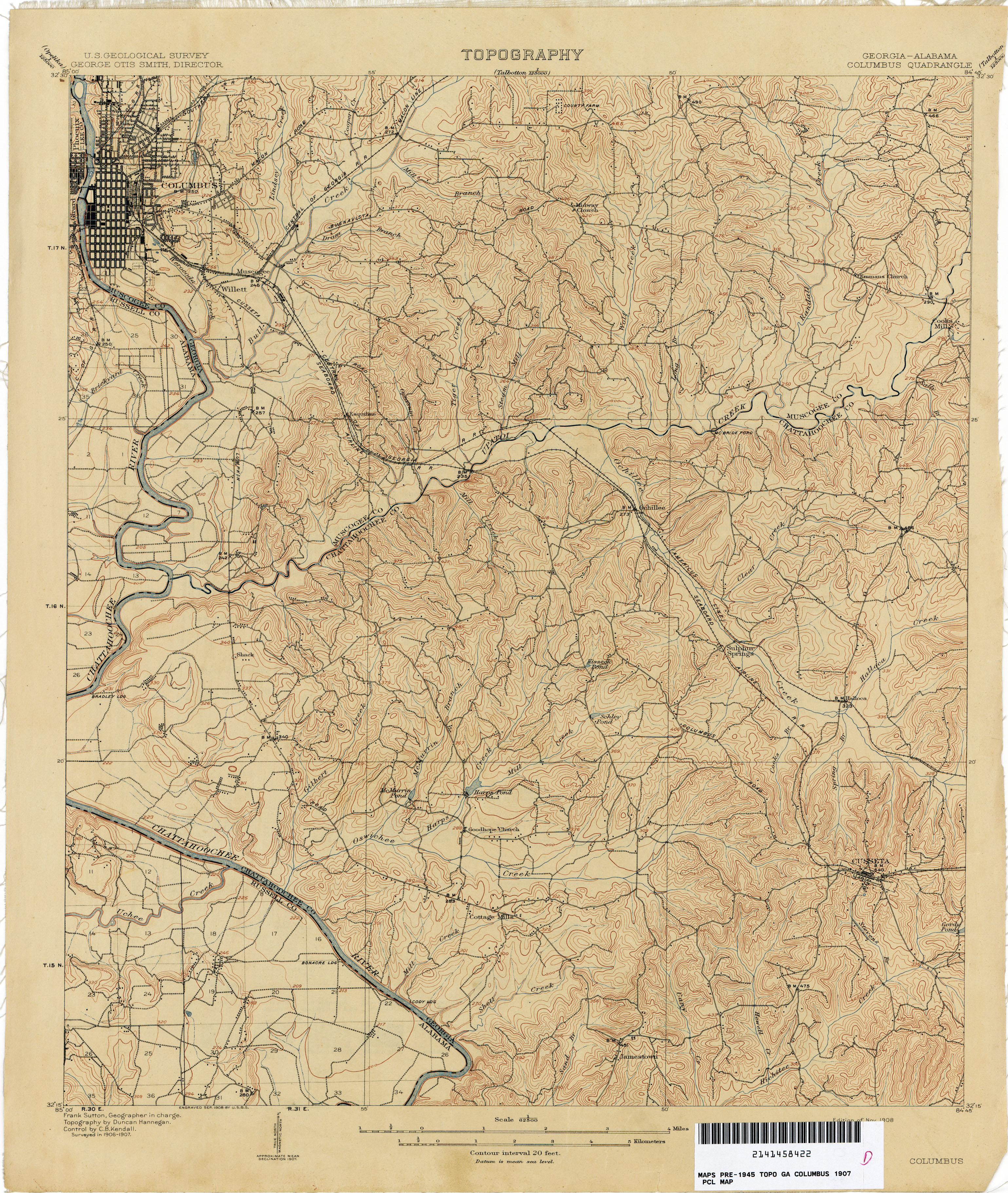 Map Of Georgia Alabama.Georgia Historical Topographic Maps Perry Castaneda Map Collection