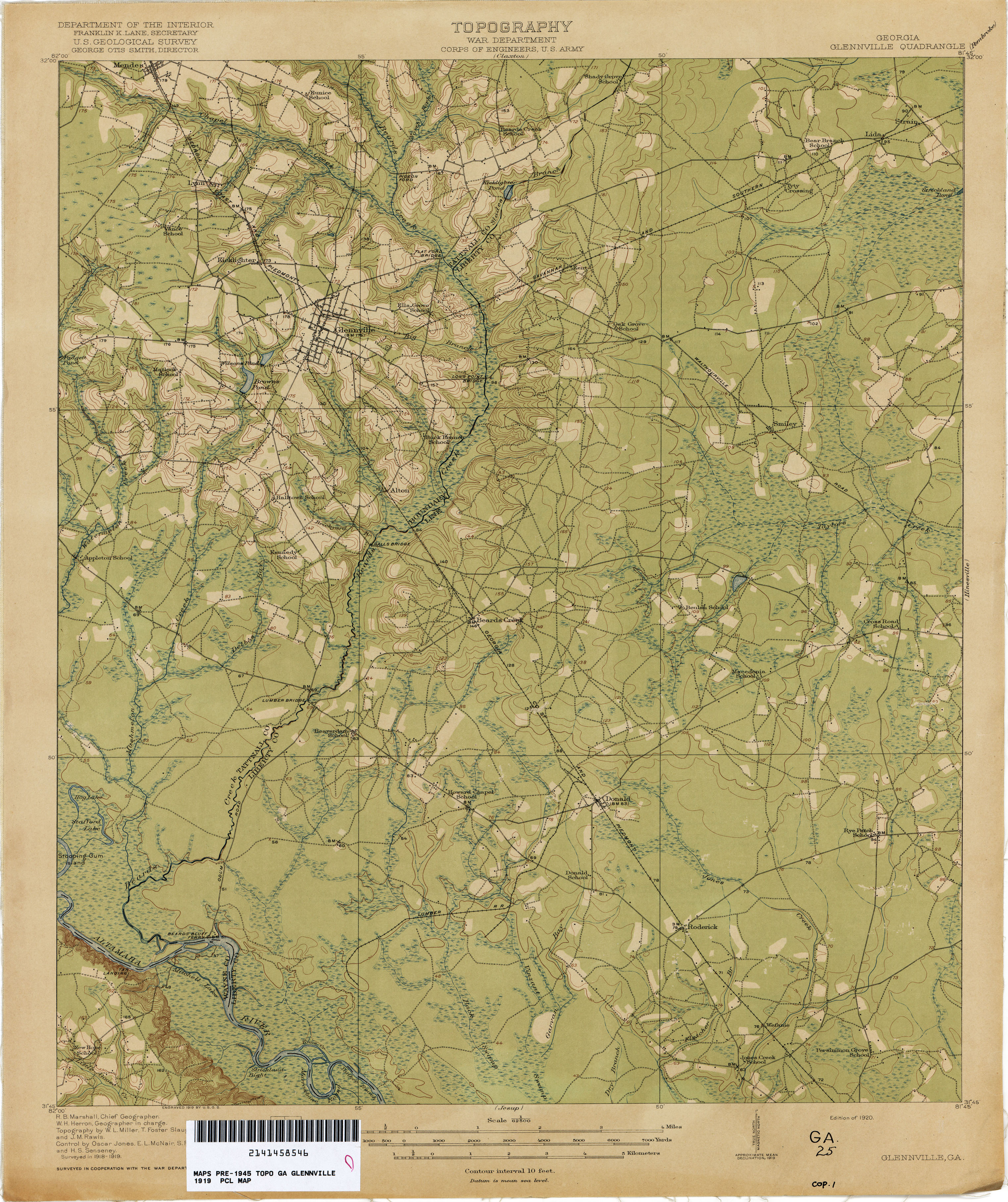 Topo Map Of Georgia.Georgia Historical Topographic Maps Perry Castaneda Map Collection