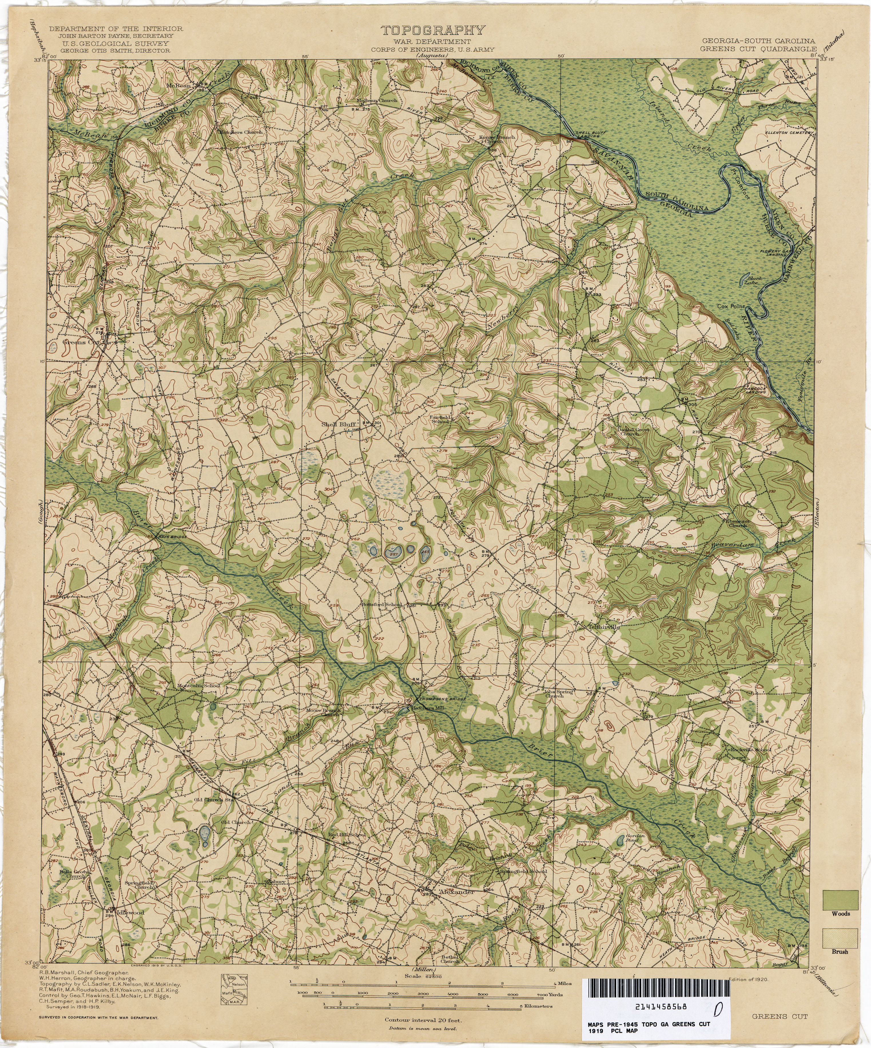 South Carolina Historical Topographic Maps PerryCastañeda Map - Topological map of us