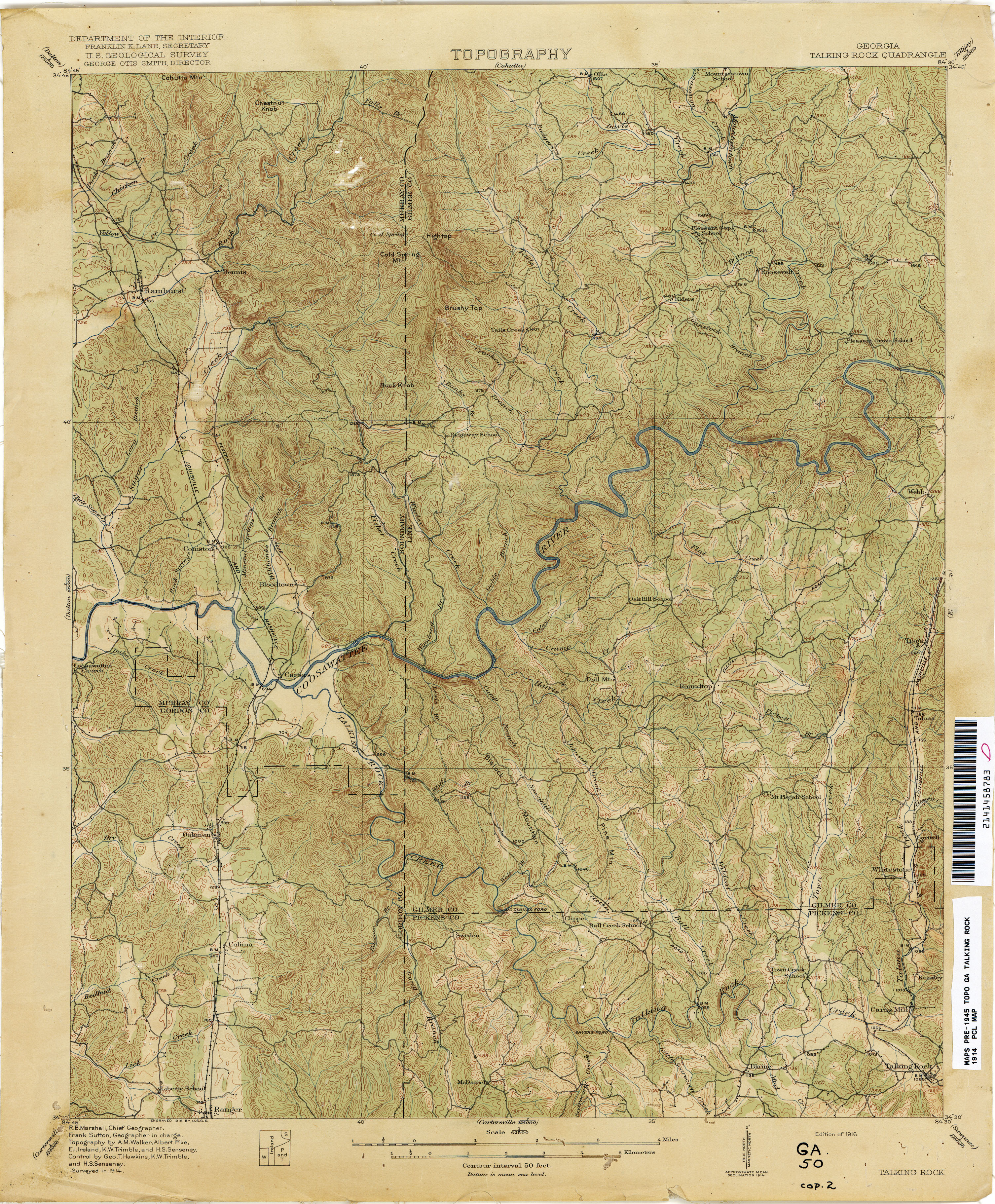 Show A Map Of Georgia.Georgia Historical Topographic Maps Perry Castaneda Map Collection