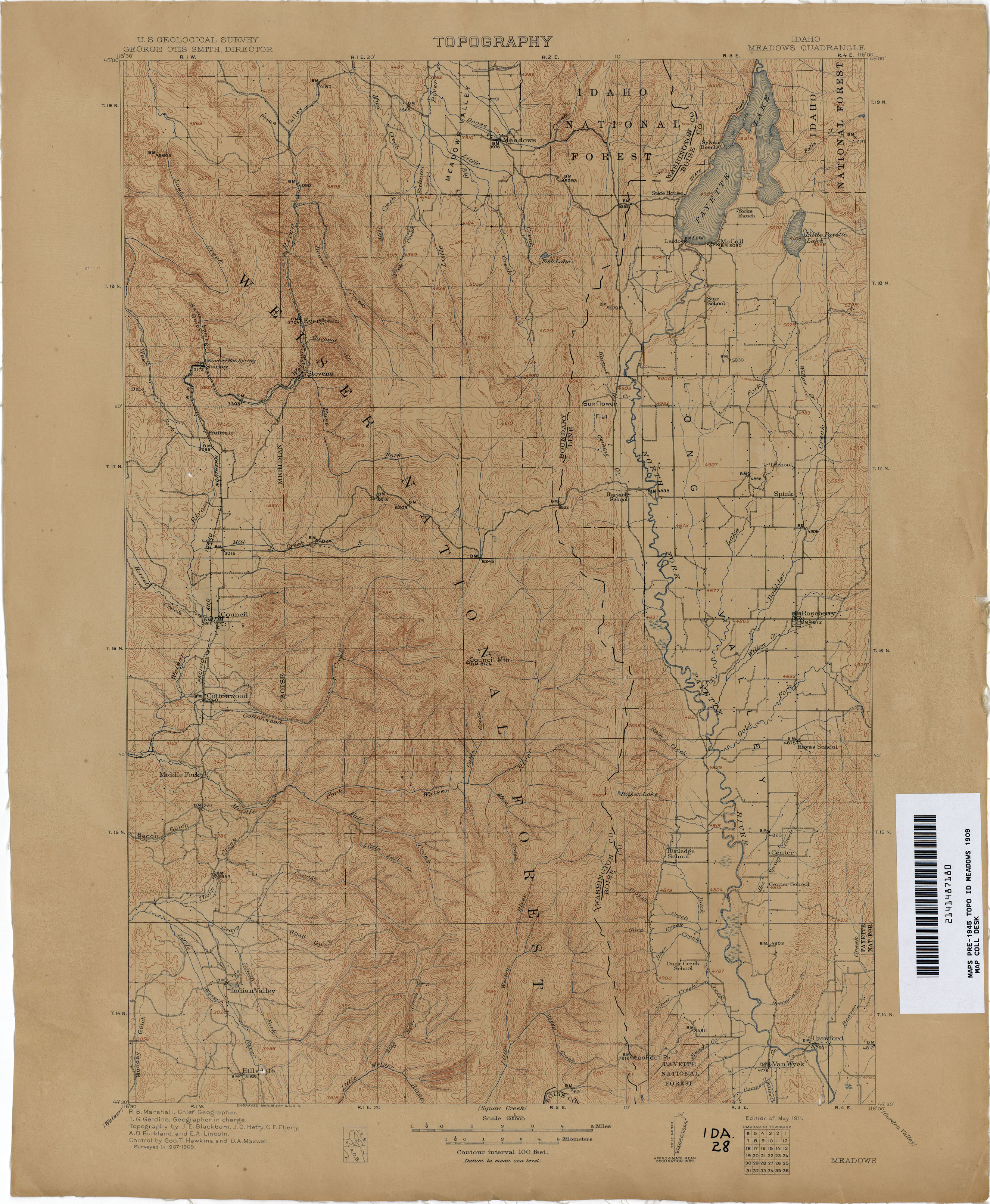 Idaho Historical Topographic Maps PerryCastañeda Map Collection - Google topographic maps online