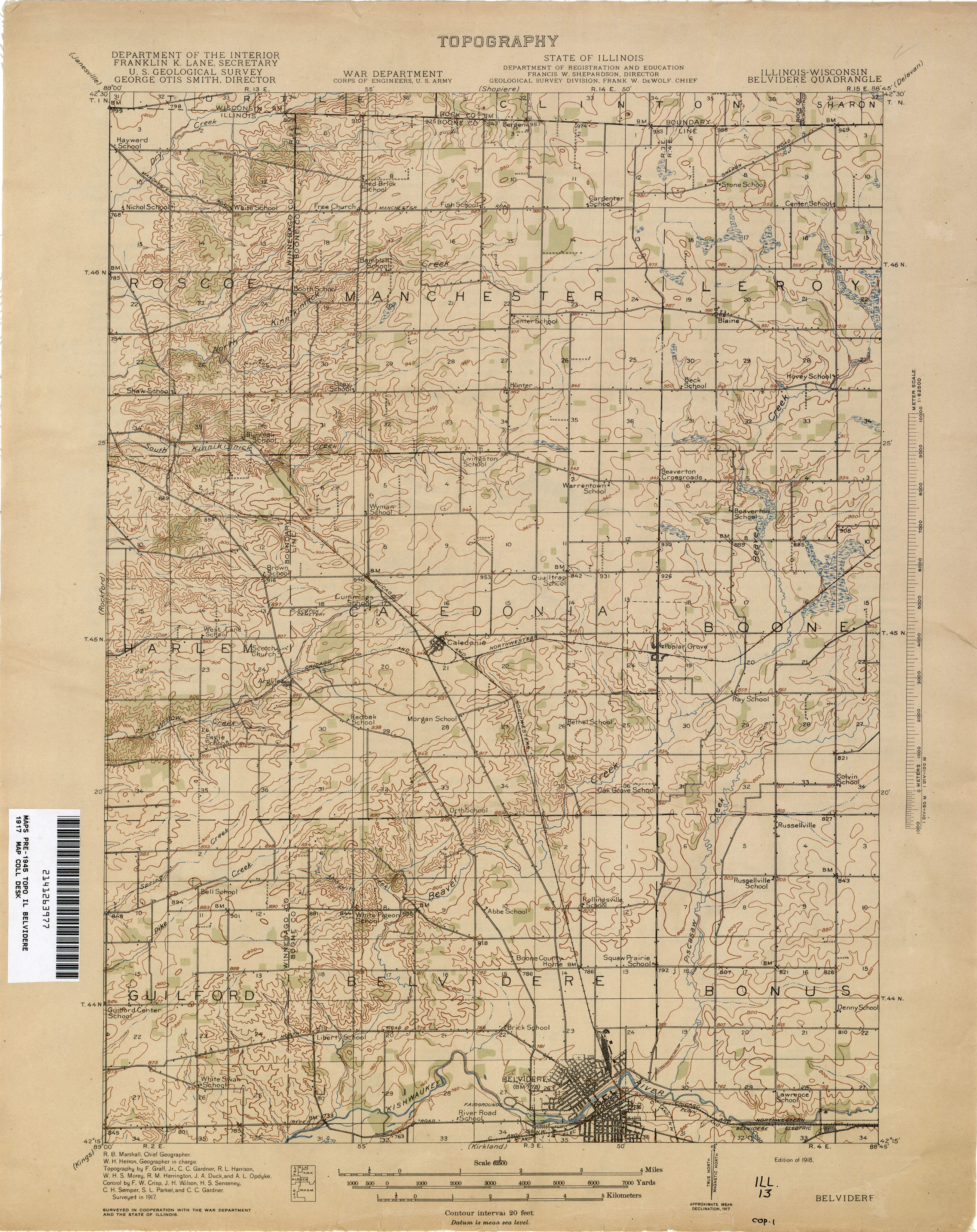 Illinois Historical Topographic Maps PerryCastañeda Map - Us geological survey maps historical
