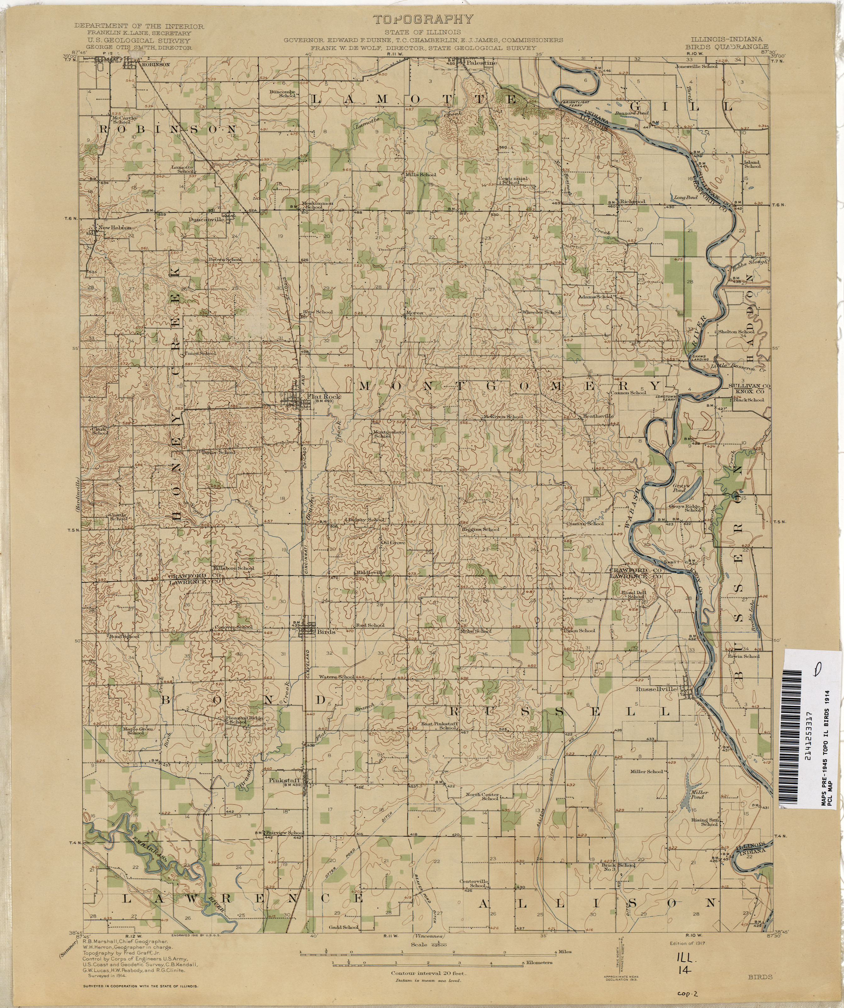 Illinois Historical Topographic Maps PerryCastañeda Map - Map of indiana and illinois