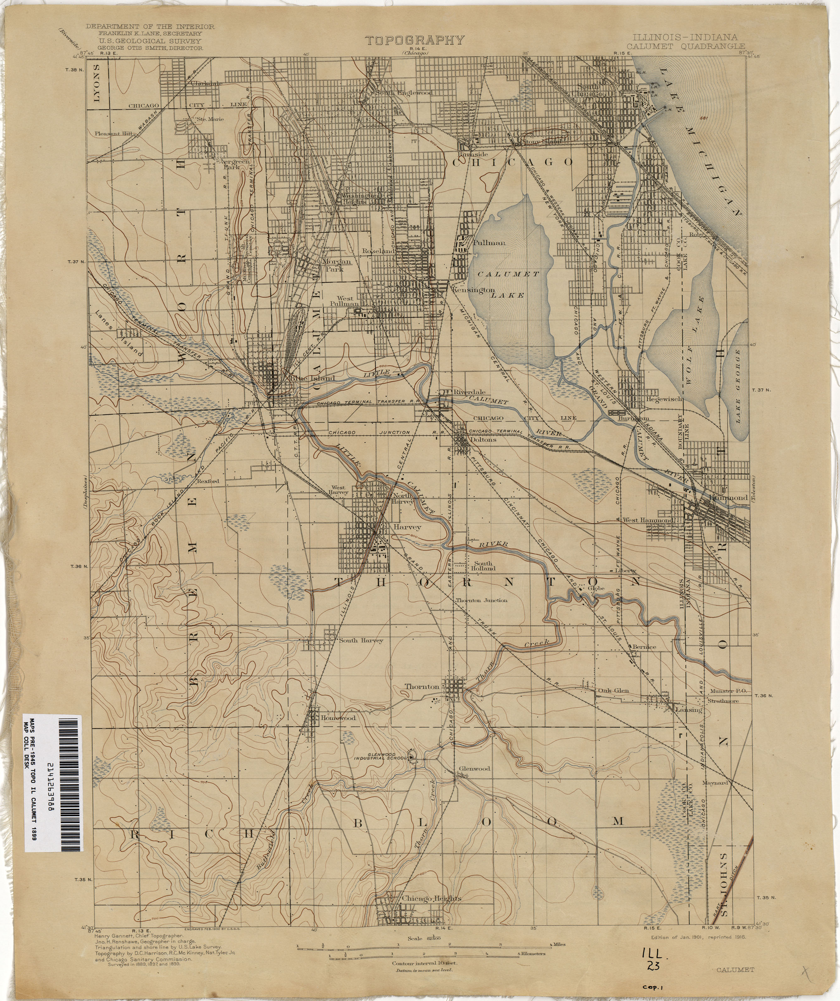 Indiana Historical Topographic Maps PerryCastañeda Map - Map of indiana and illinois