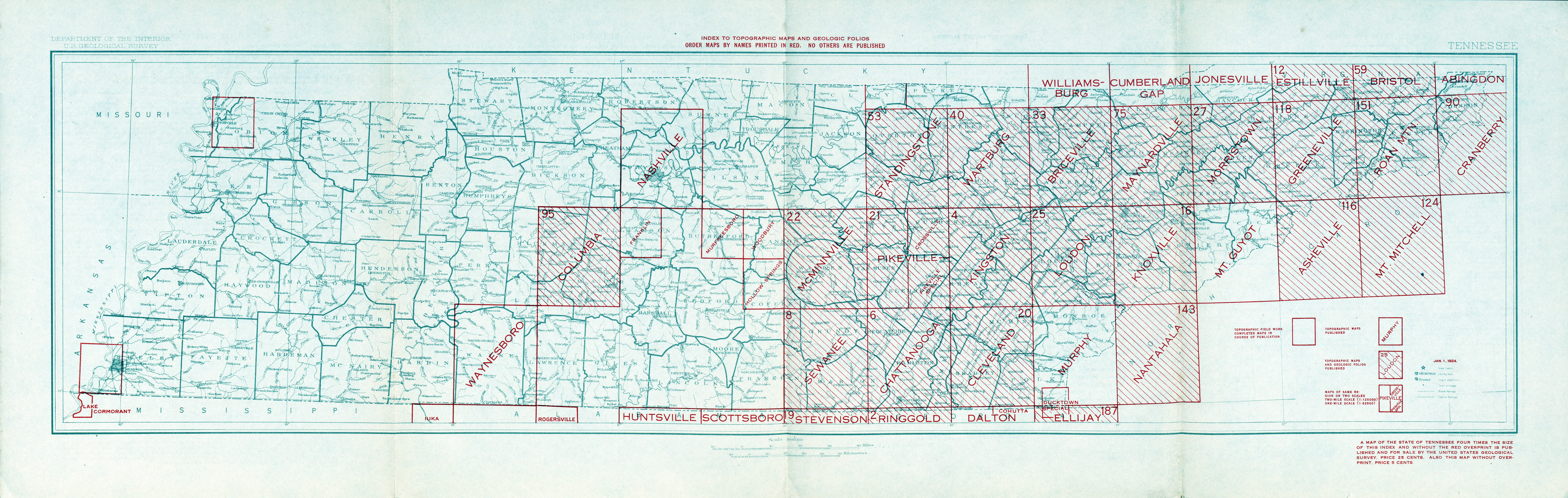 Tennesse Historical Topographic Maps PerryCastañeda Map - Where to buy us topo maps