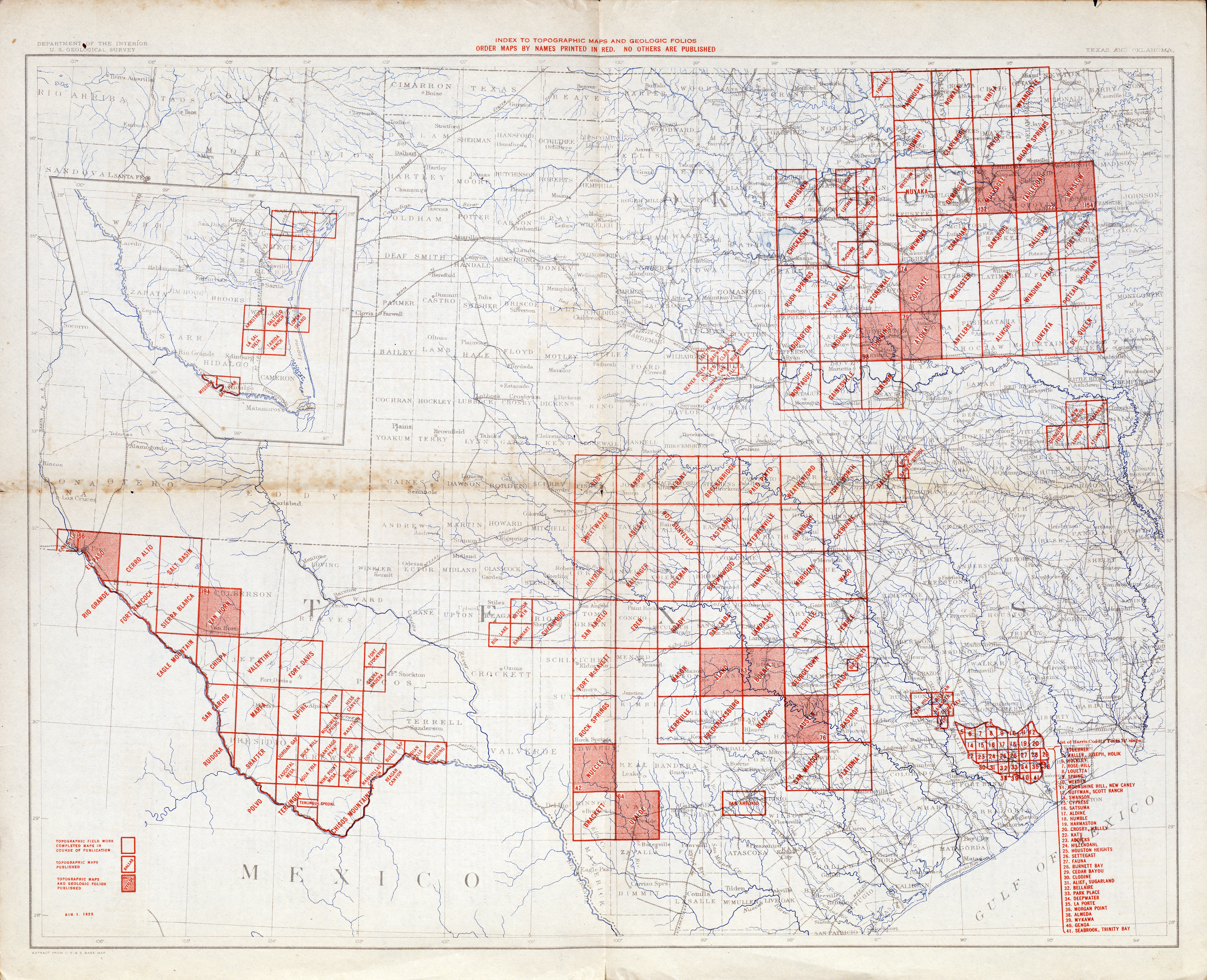 Texas Topographic Maps PerryCastañeda Map Collection UT - Maps of tx