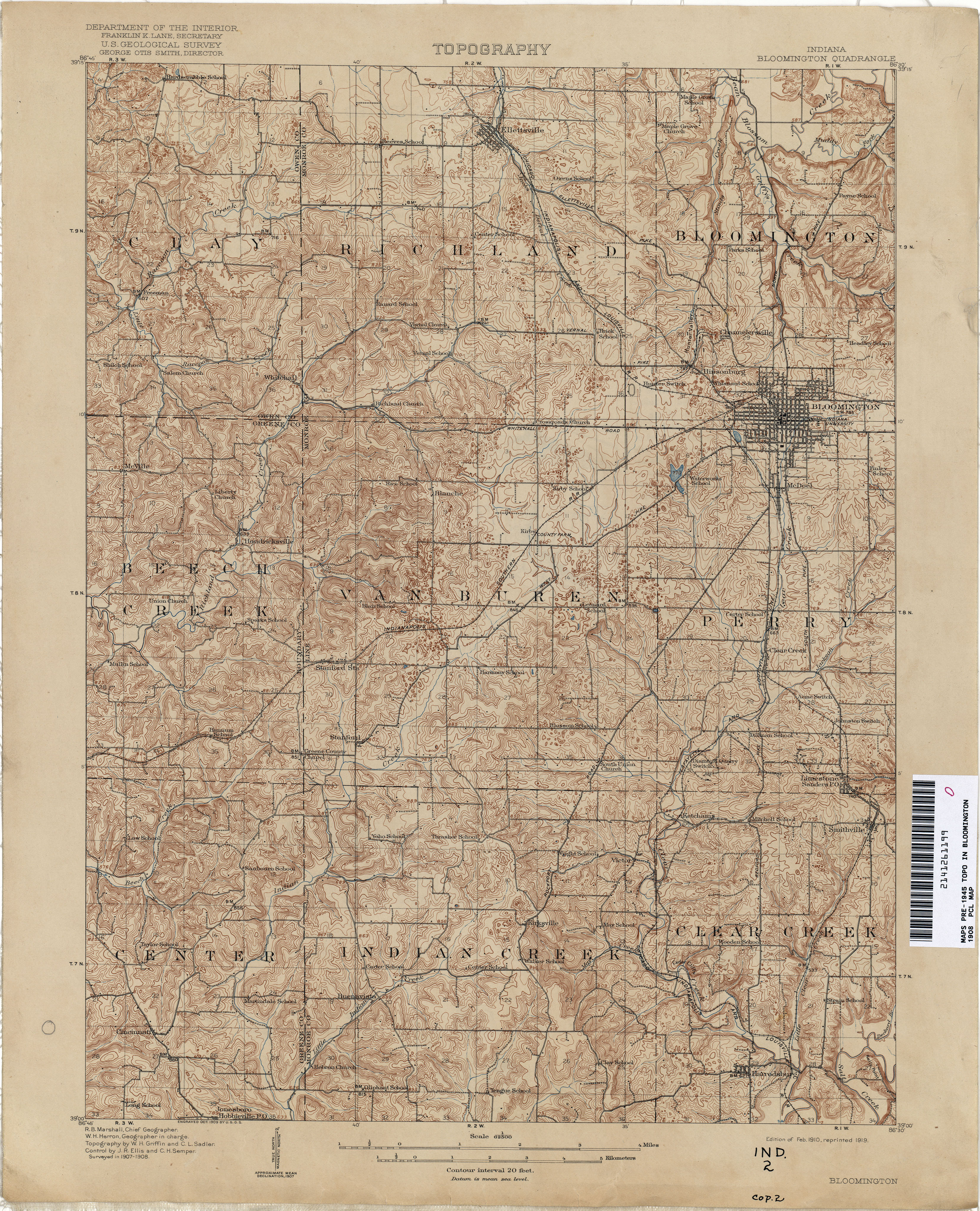 St Meinrad Indiana Map.Indiana Historical Topographic Maps Perry Castaneda Map Collection