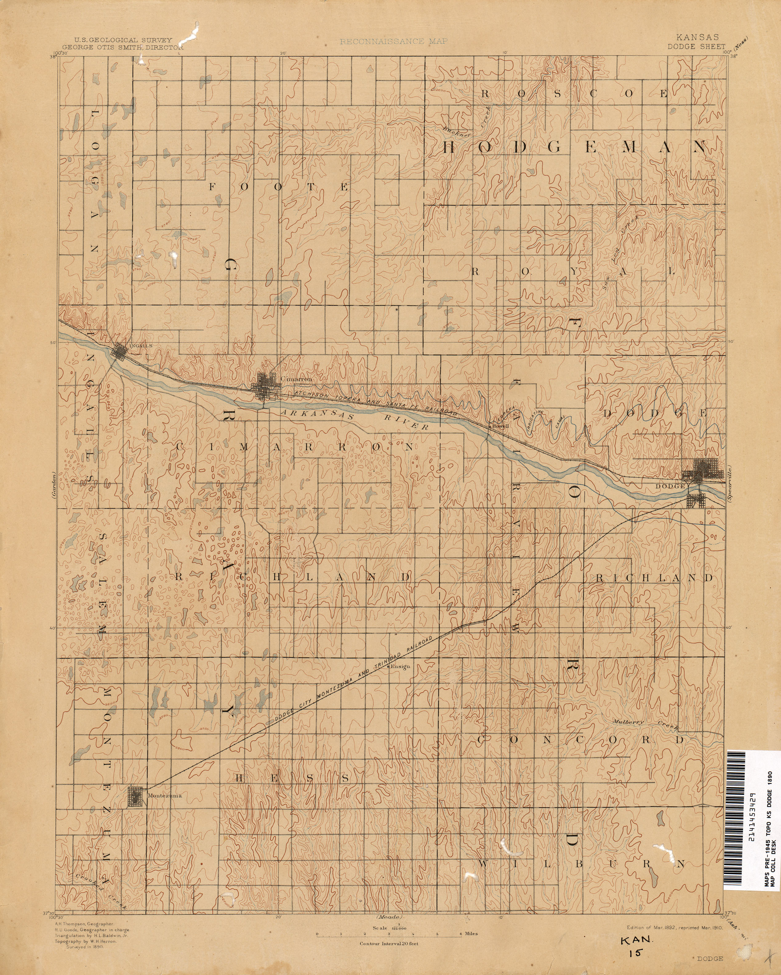 Kansas historical topographic maps perry castaeda map collection kansas historical topographic maps gumiabroncs Gallery