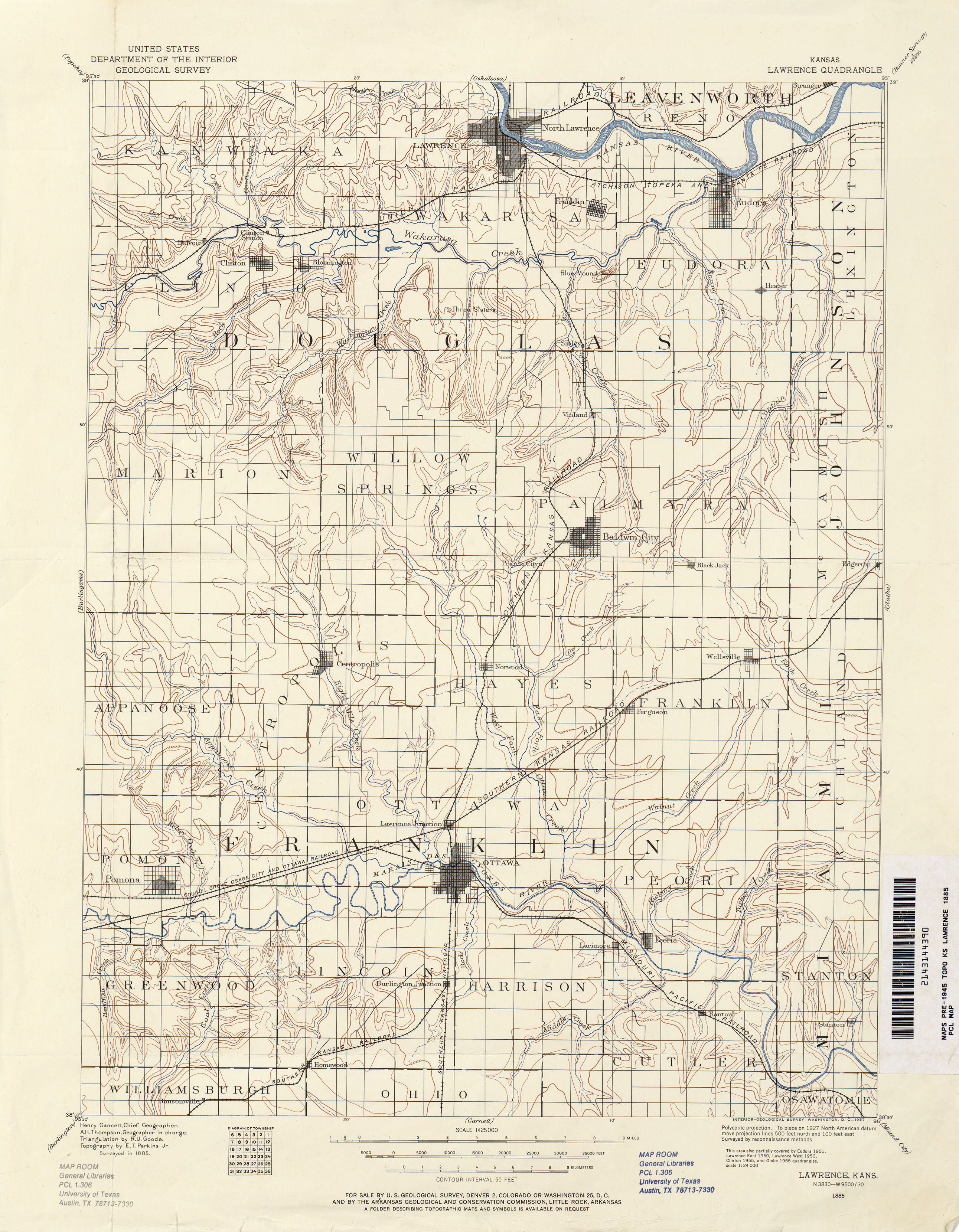 Kansas Historical Topographic Maps - Perry-Castañeda Map Collection on mo map, wy map, oh map, al map, or map, az map, tn map, co map, nm map, ok map, texas map, la map, mi map, mn map, ca map, ma map, wa map, ms map, ne map, ak map,