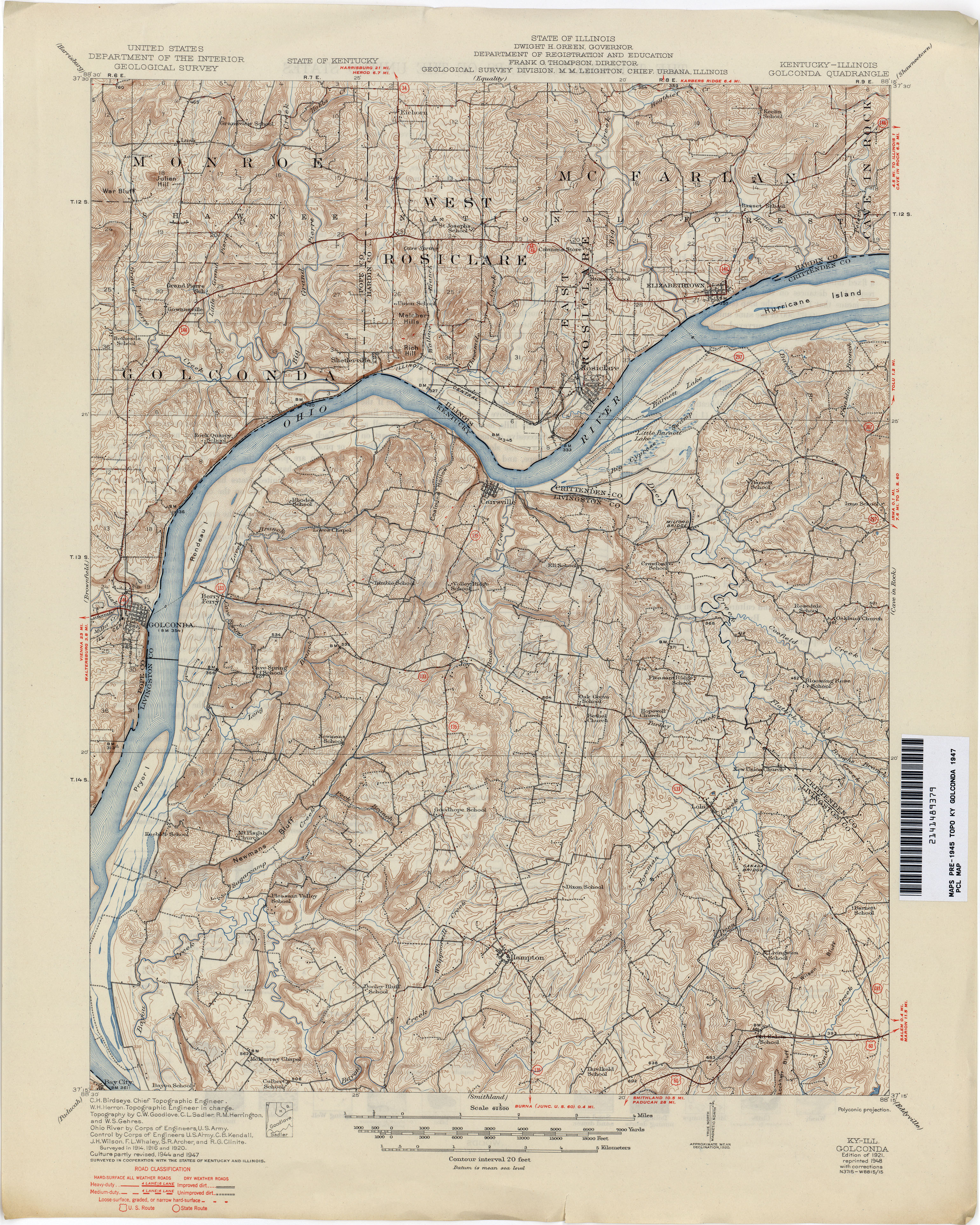 Kentucky Historical Topographic Maps PerryCastañeda Map - Us map topography