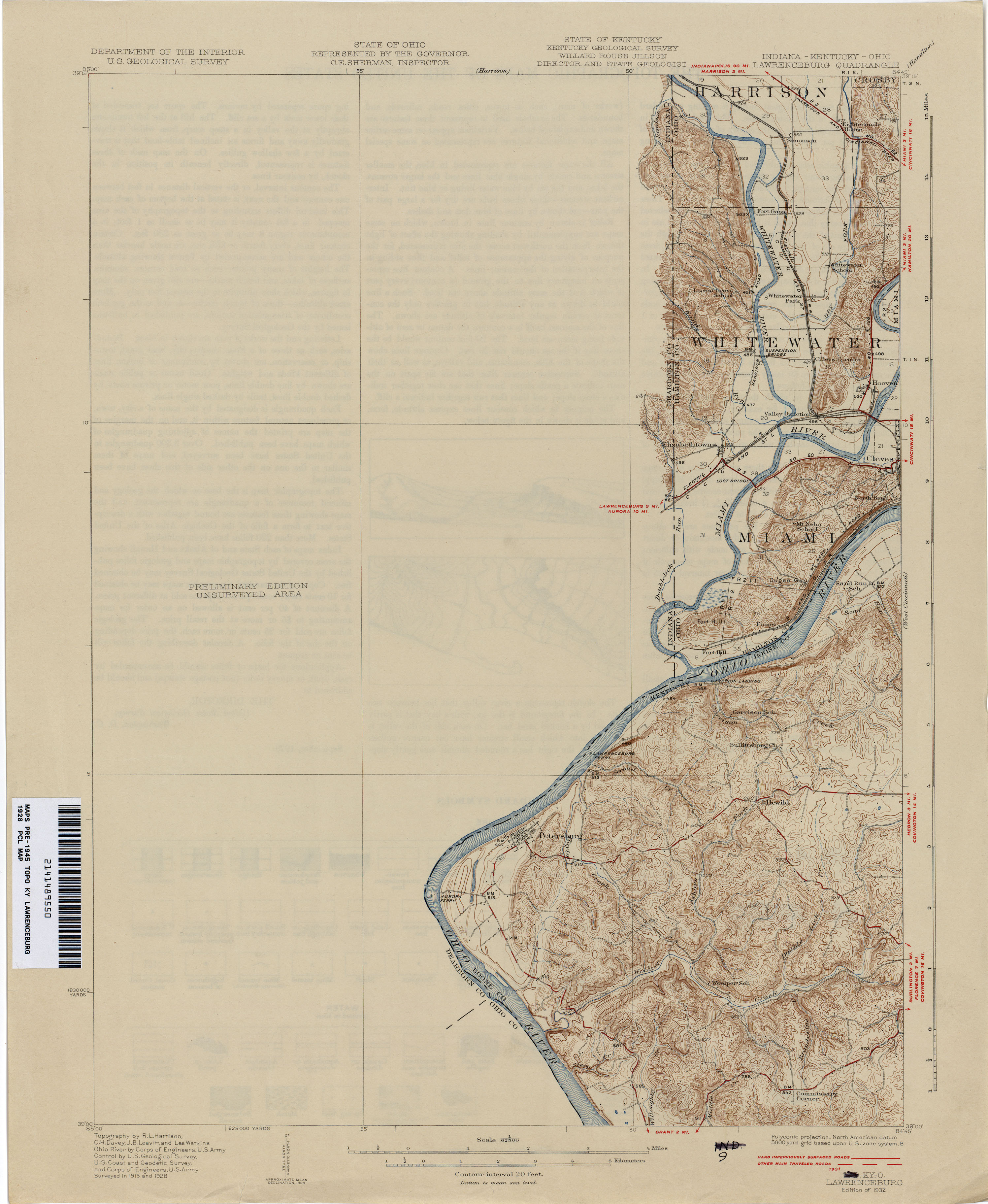 Kentucky Historical Topographic Maps PerryCastañeda Map - Us geological topographic maps