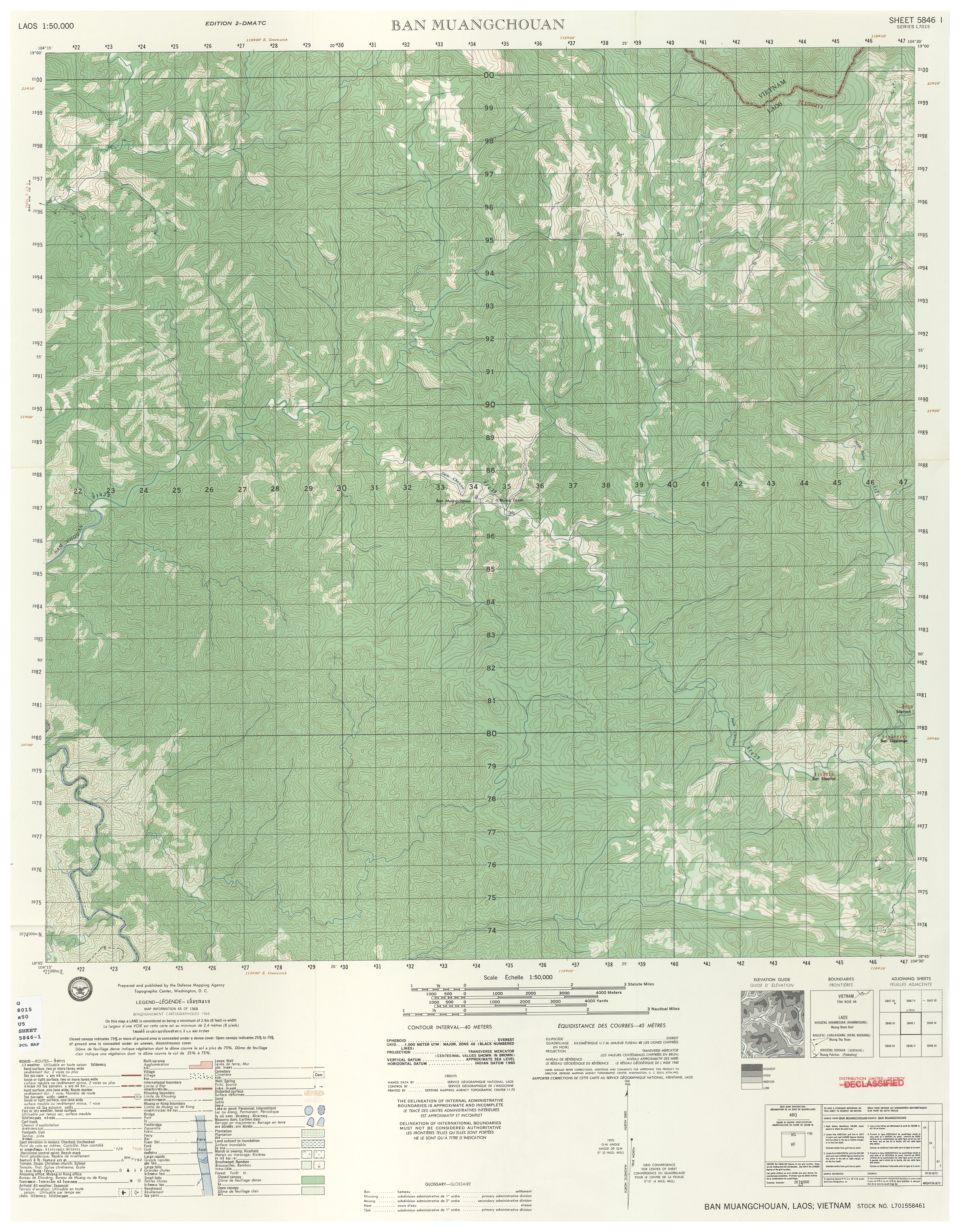 Laos Topographic Maps PerryCastañeda Map Collection UT - Images map sheets of us