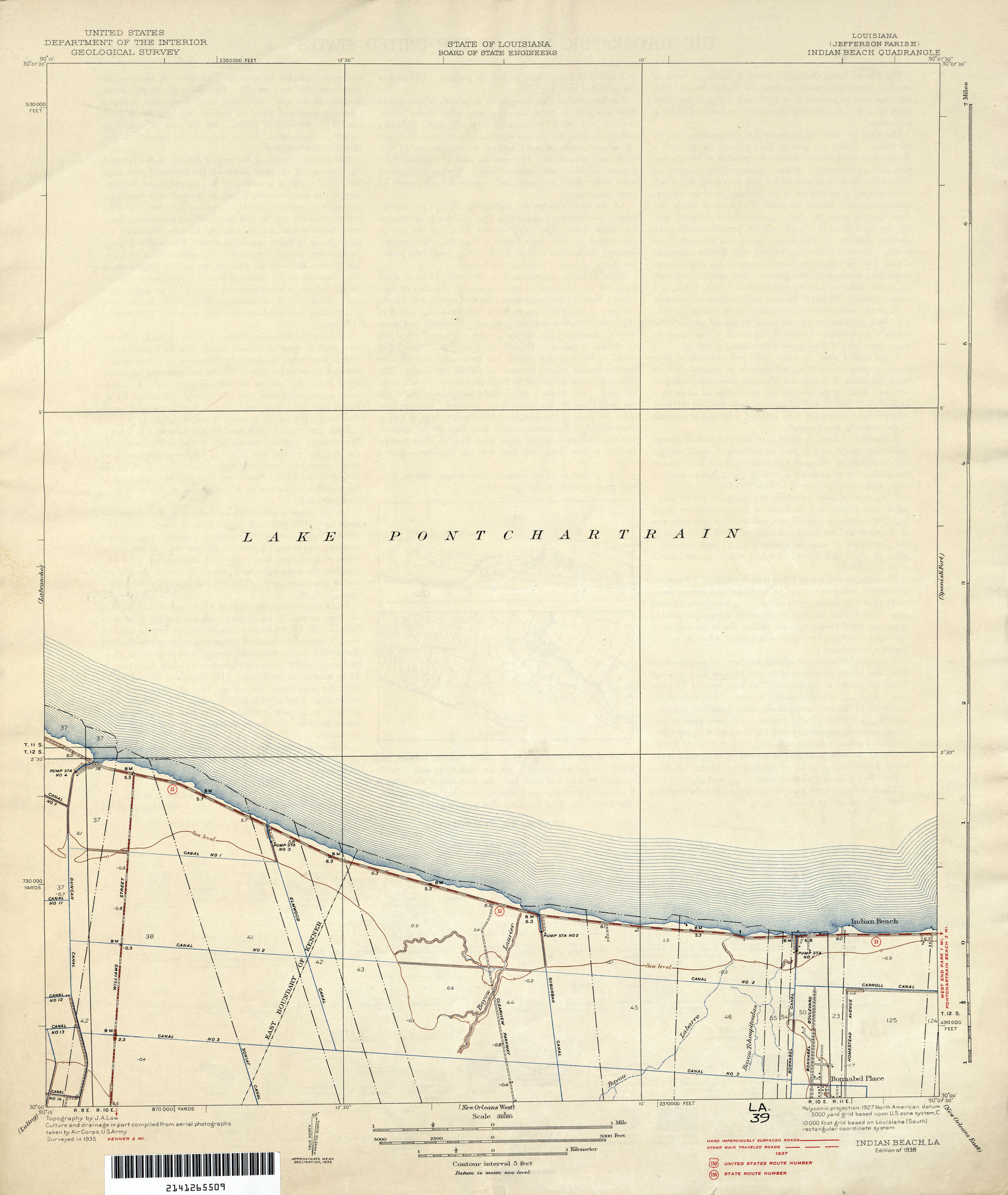 Louisiana Topographic Maps PerryCastañeda Map Collection UT - Map of us new orleans