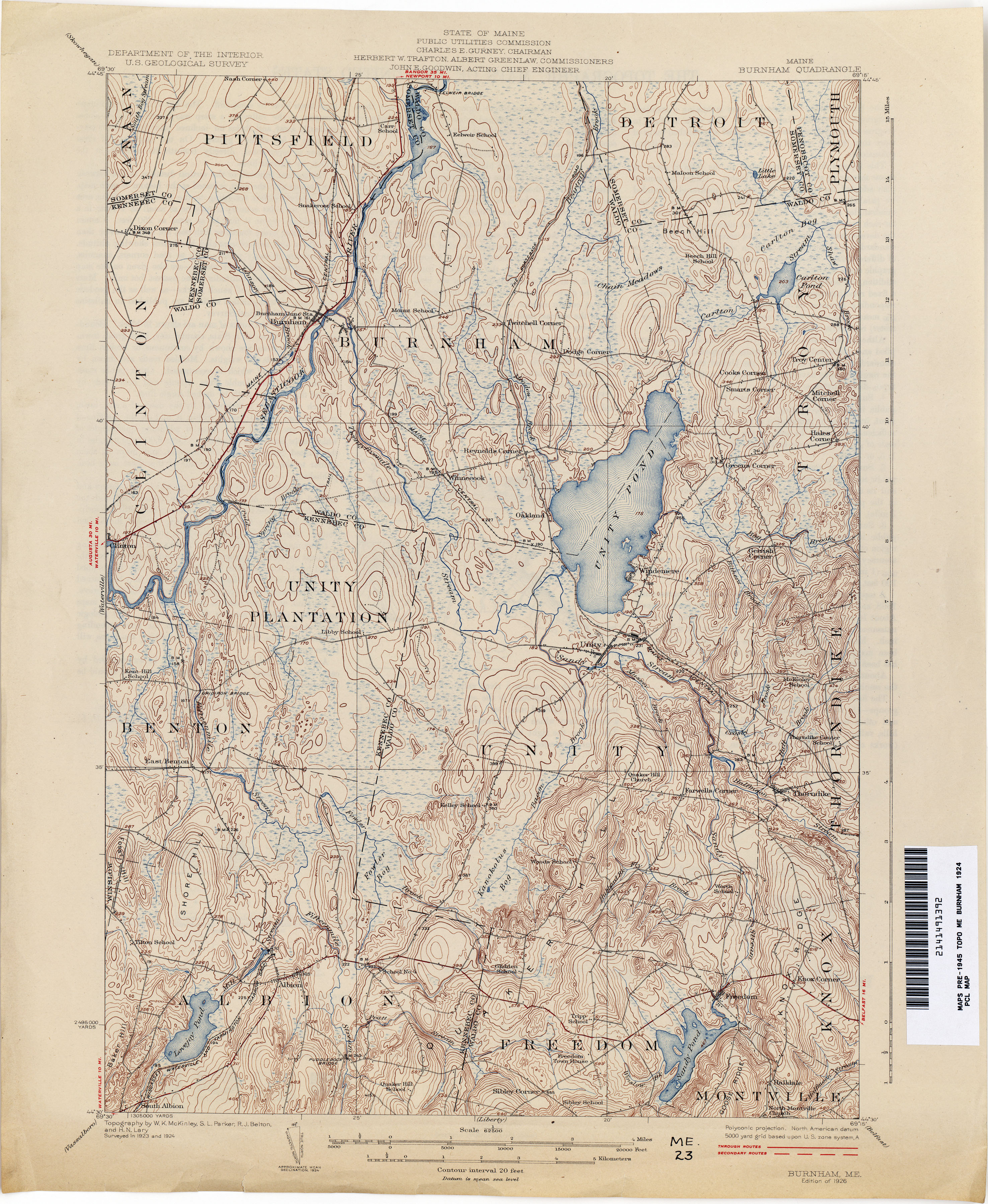 Maine Map Images.Maine Historical Topographic Maps Perry Castaneda Map Collection