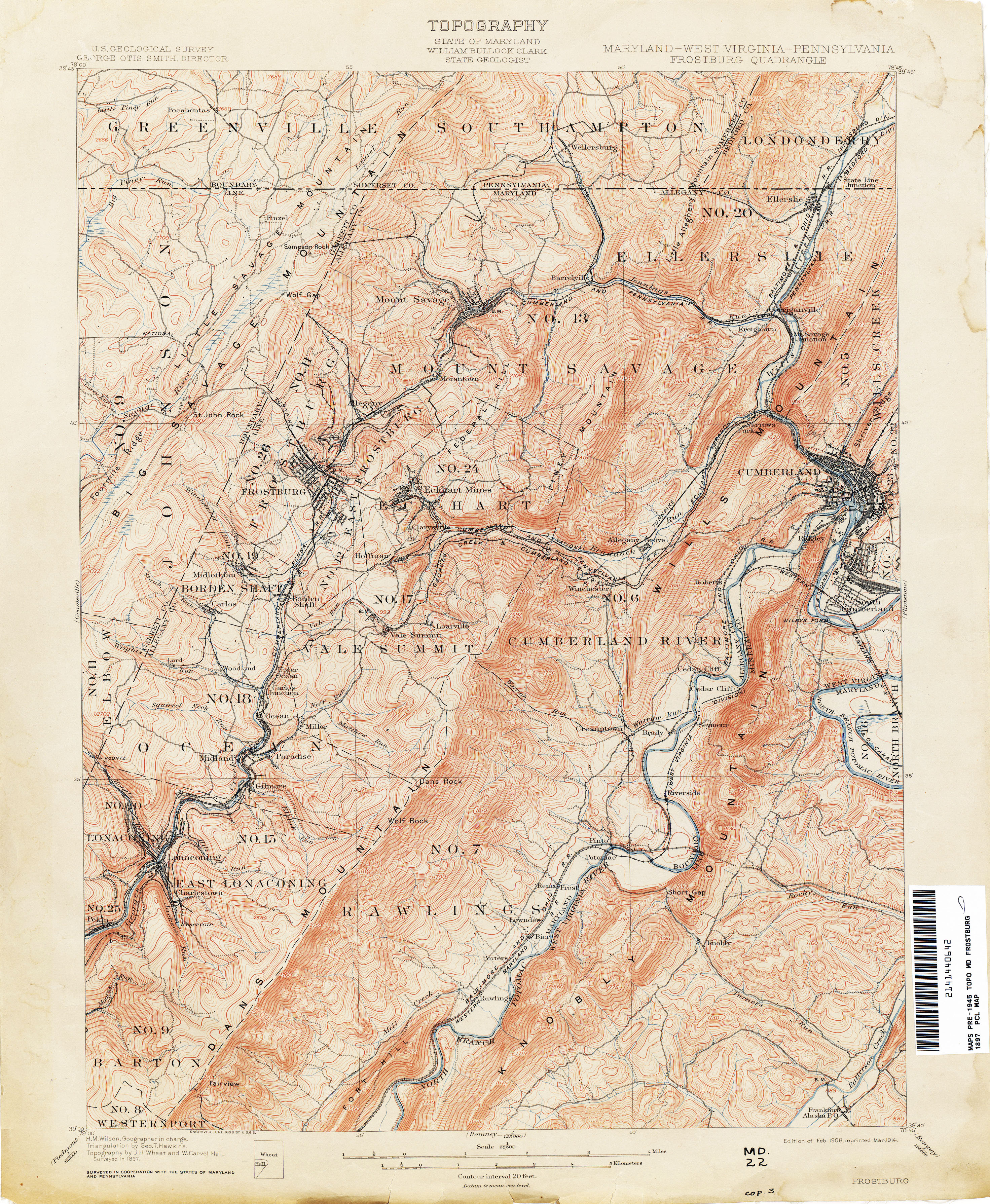 Worksheet. Maryland Historical Topographic Maps  PerryCastaeda Map
