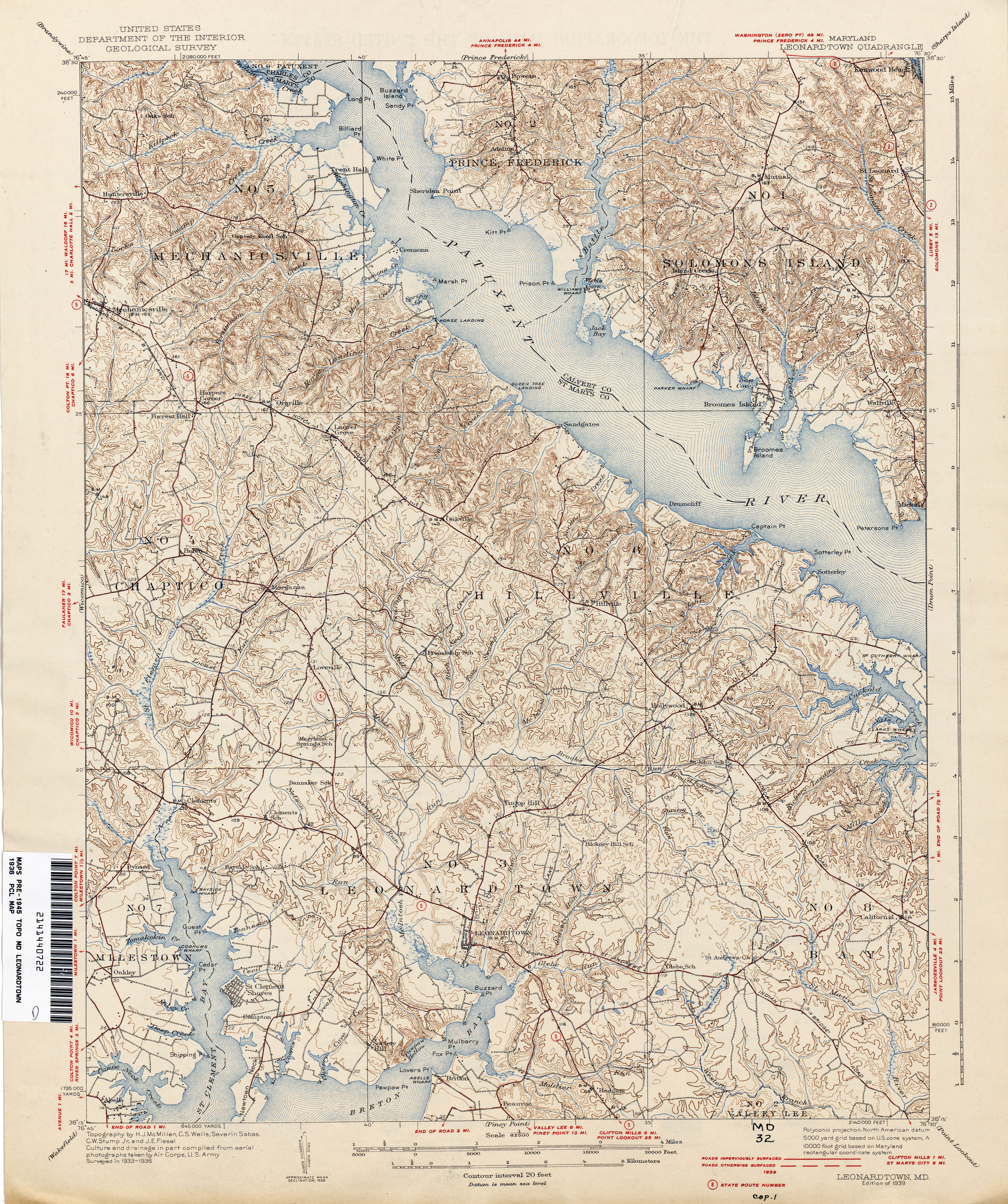 Maryland Historical Topographic Maps