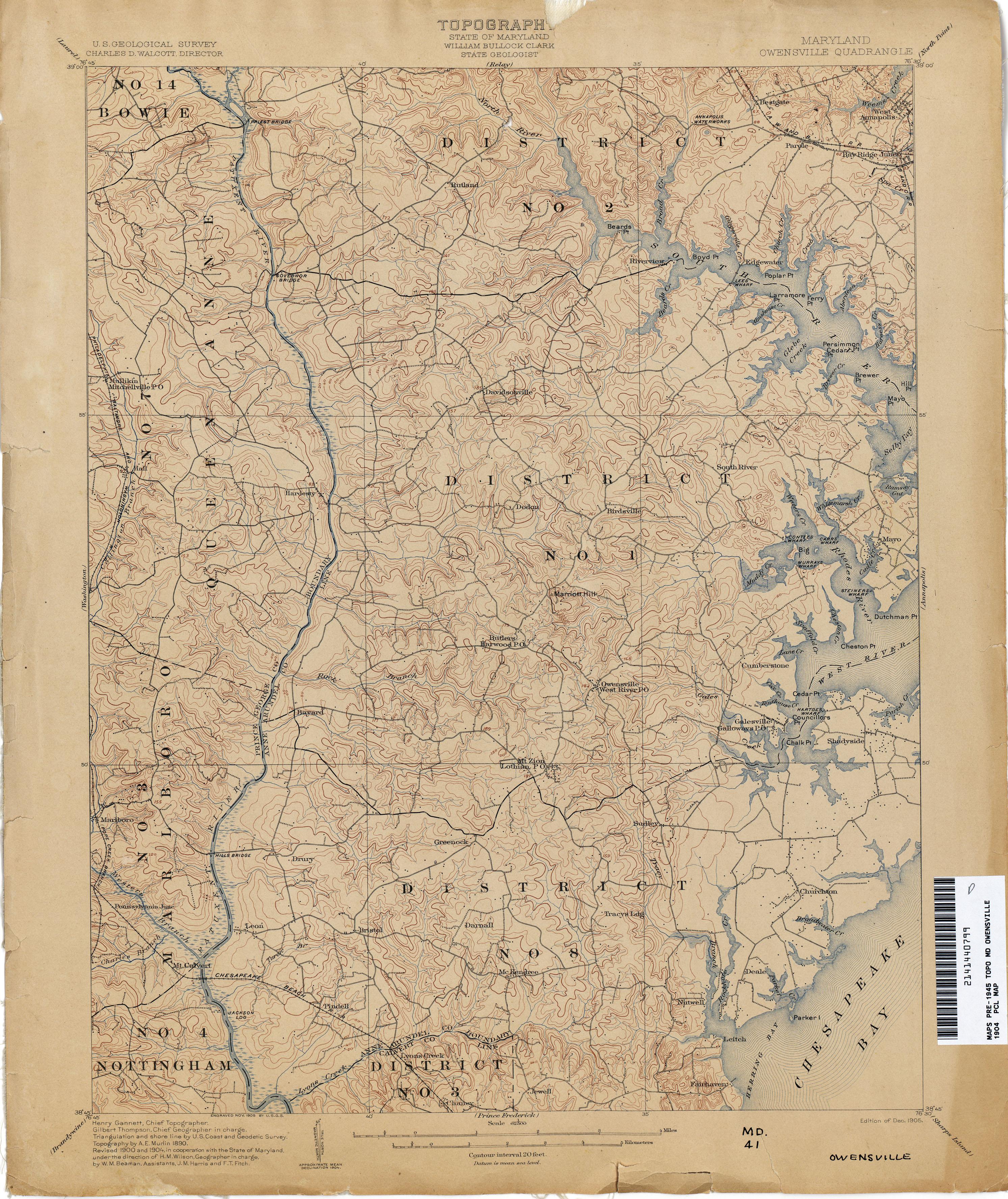 Maryland Historical Topographic Maps Maryland Historical Topographic