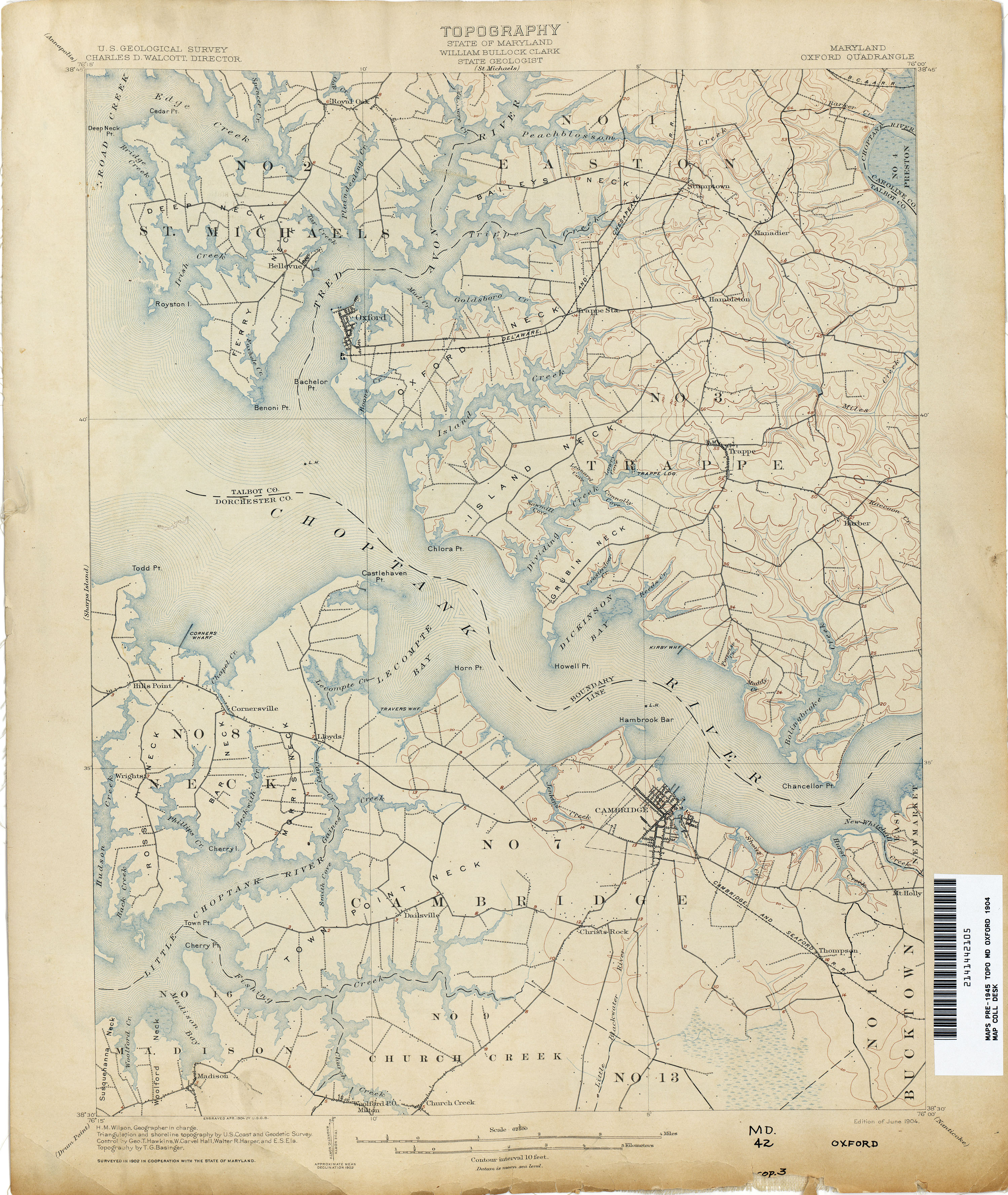 Maryland Historical Topographic Maps   Perry Castañeda Map