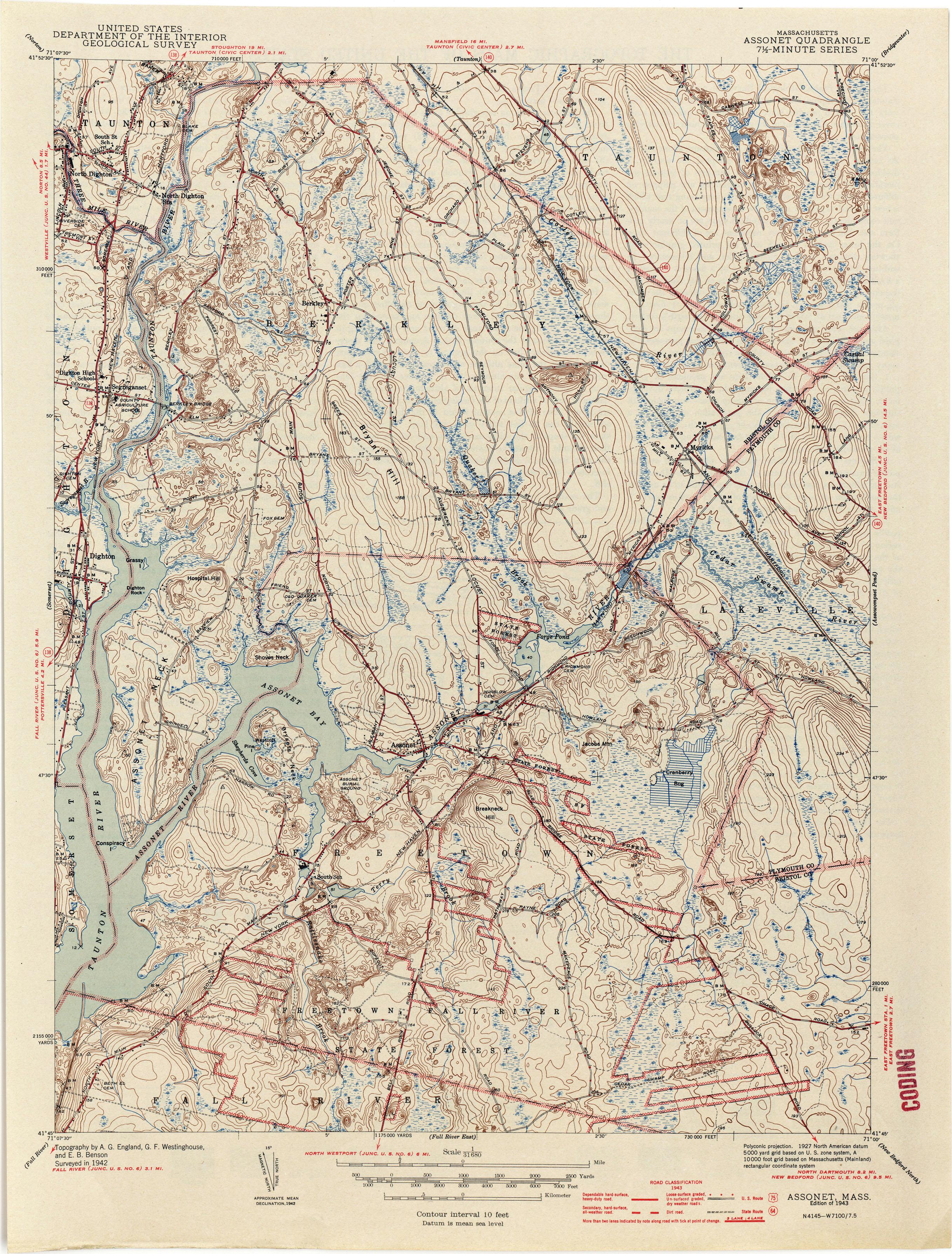 Massachusetts Historical Topographic Maps PerryCastañeda Map - Massachusetts on the us map