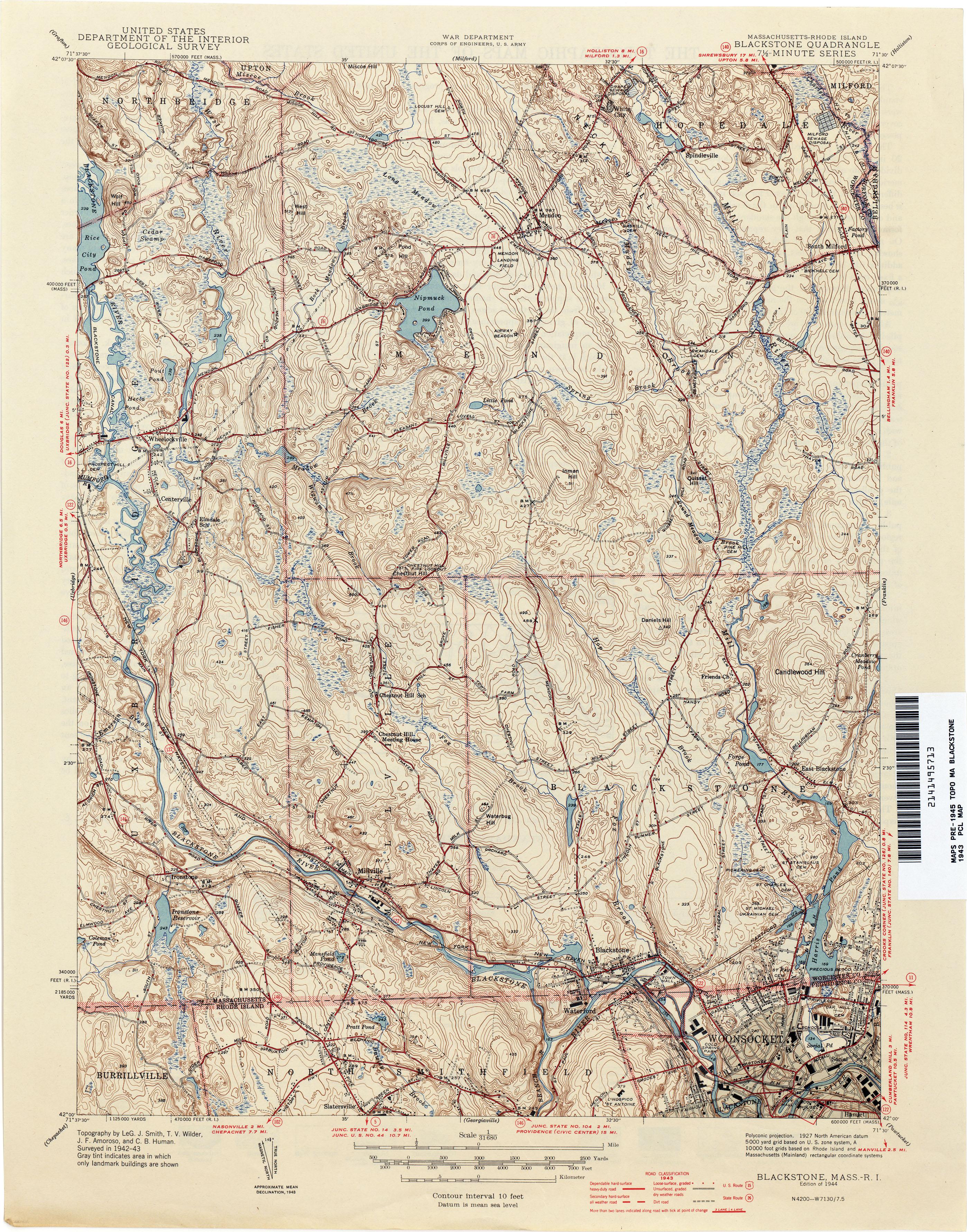 M Achusetts Historical Topographic Maps