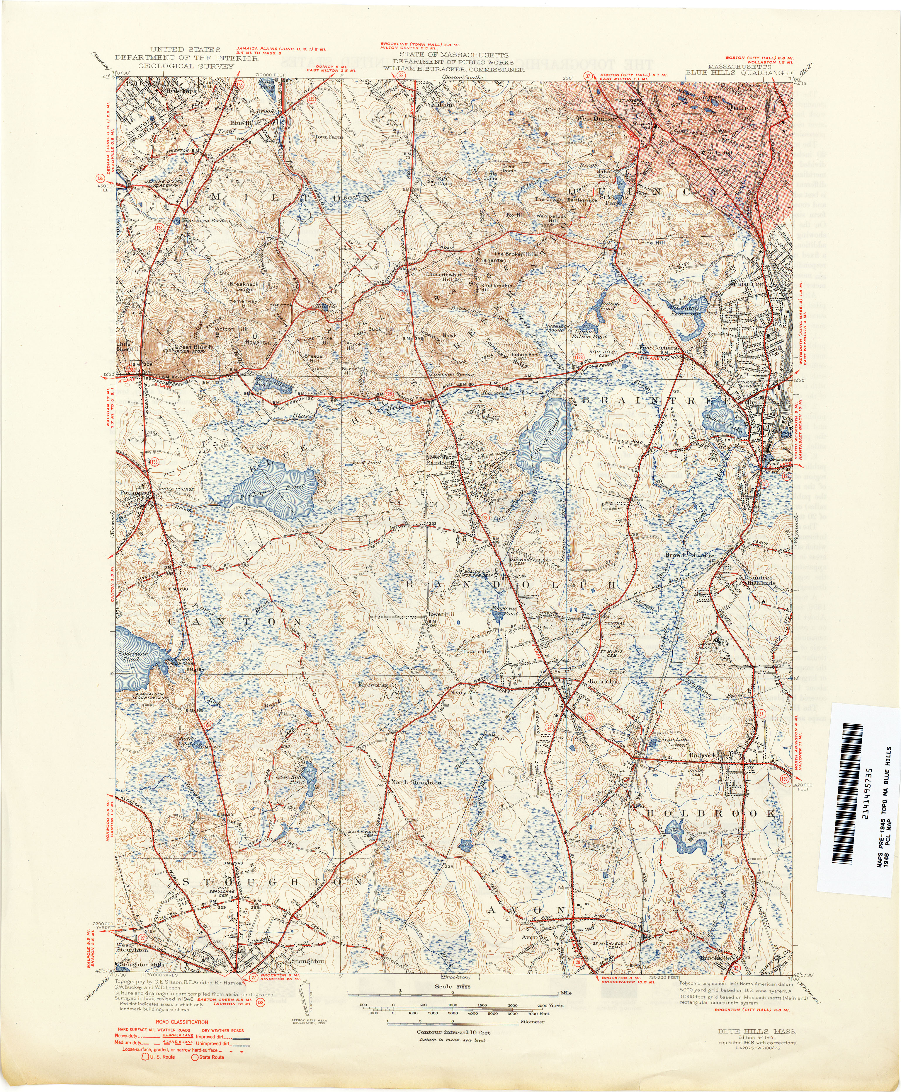 Hill Topographic Map.Massachusetts Historical Topographic Maps Perry Castaneda Map