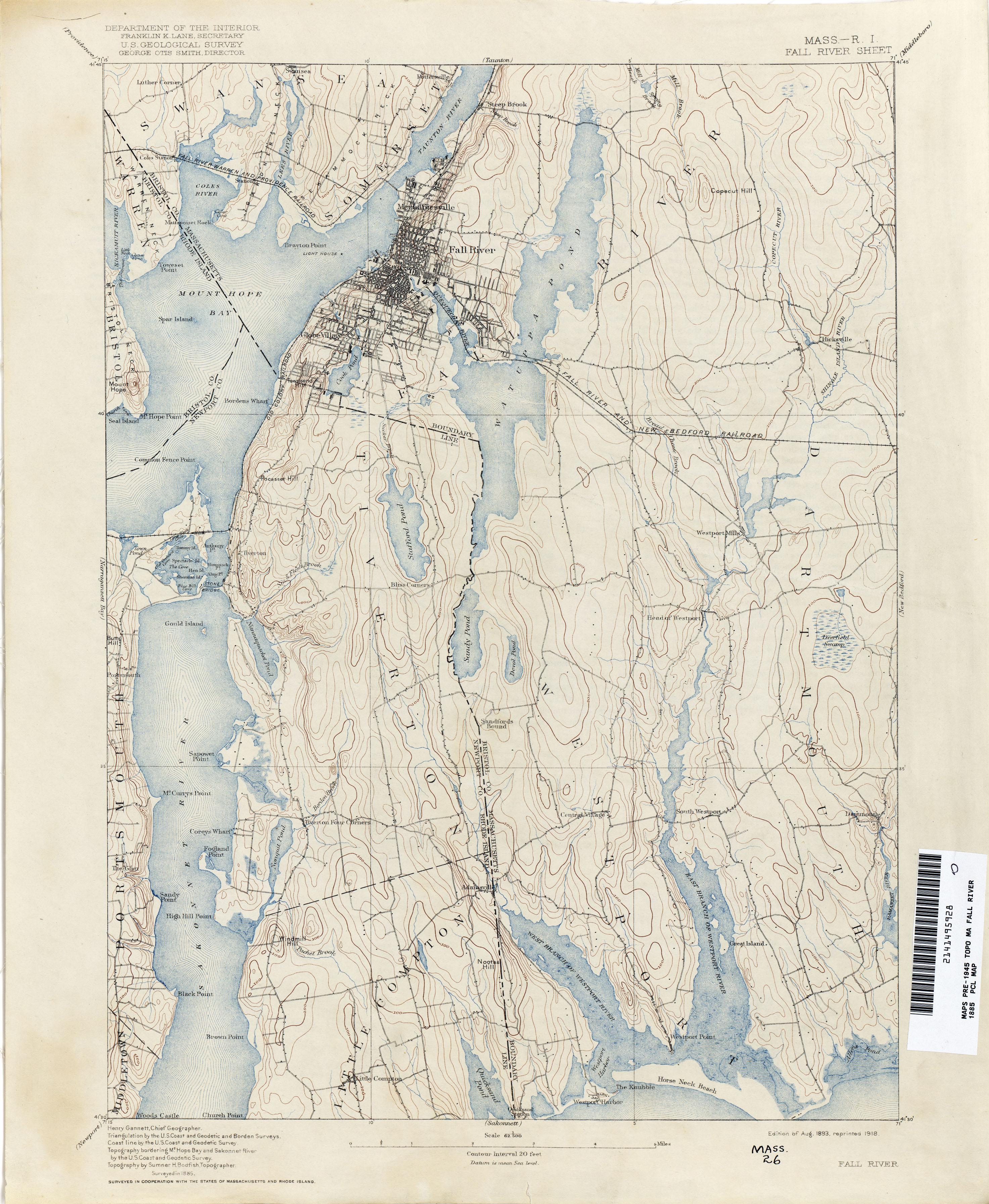 Massachusetts Historical Topographic Maps PerryCastañeda Map - Massachusetts map