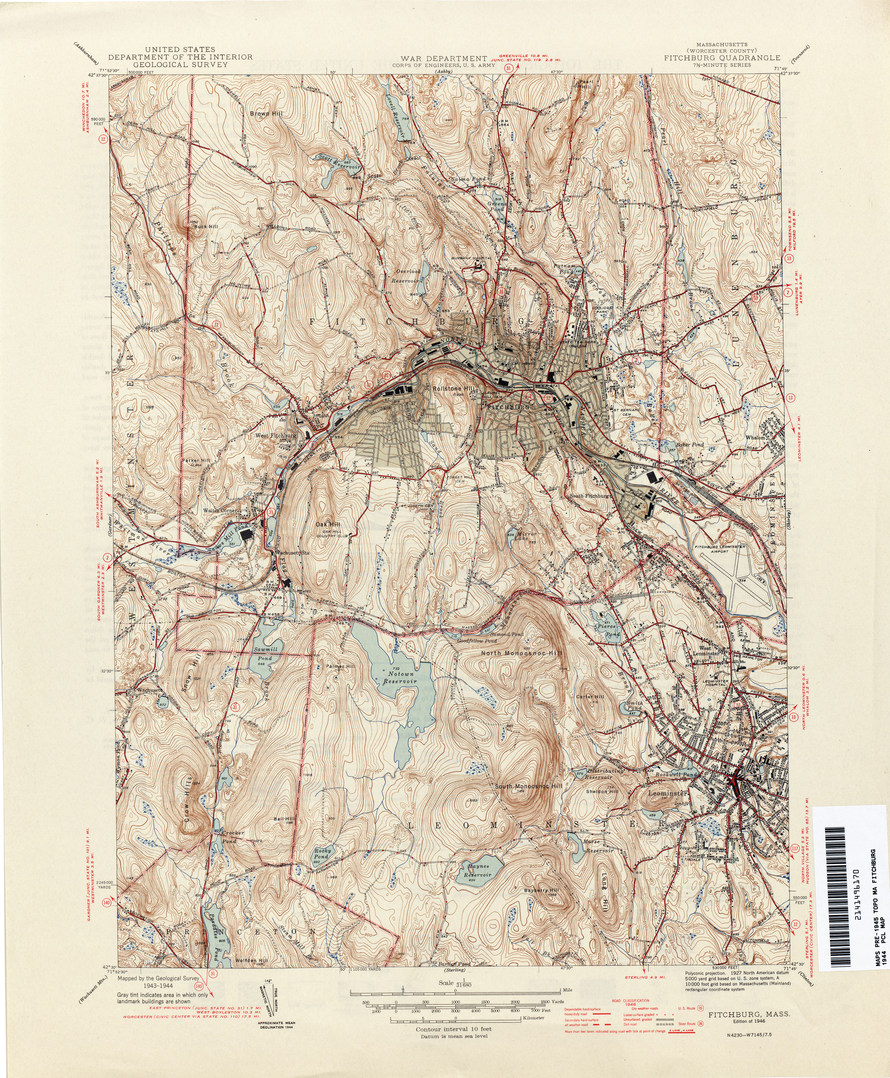 Massachusetts Historical Topographic Maps PerryCastañeda Map - Ma map