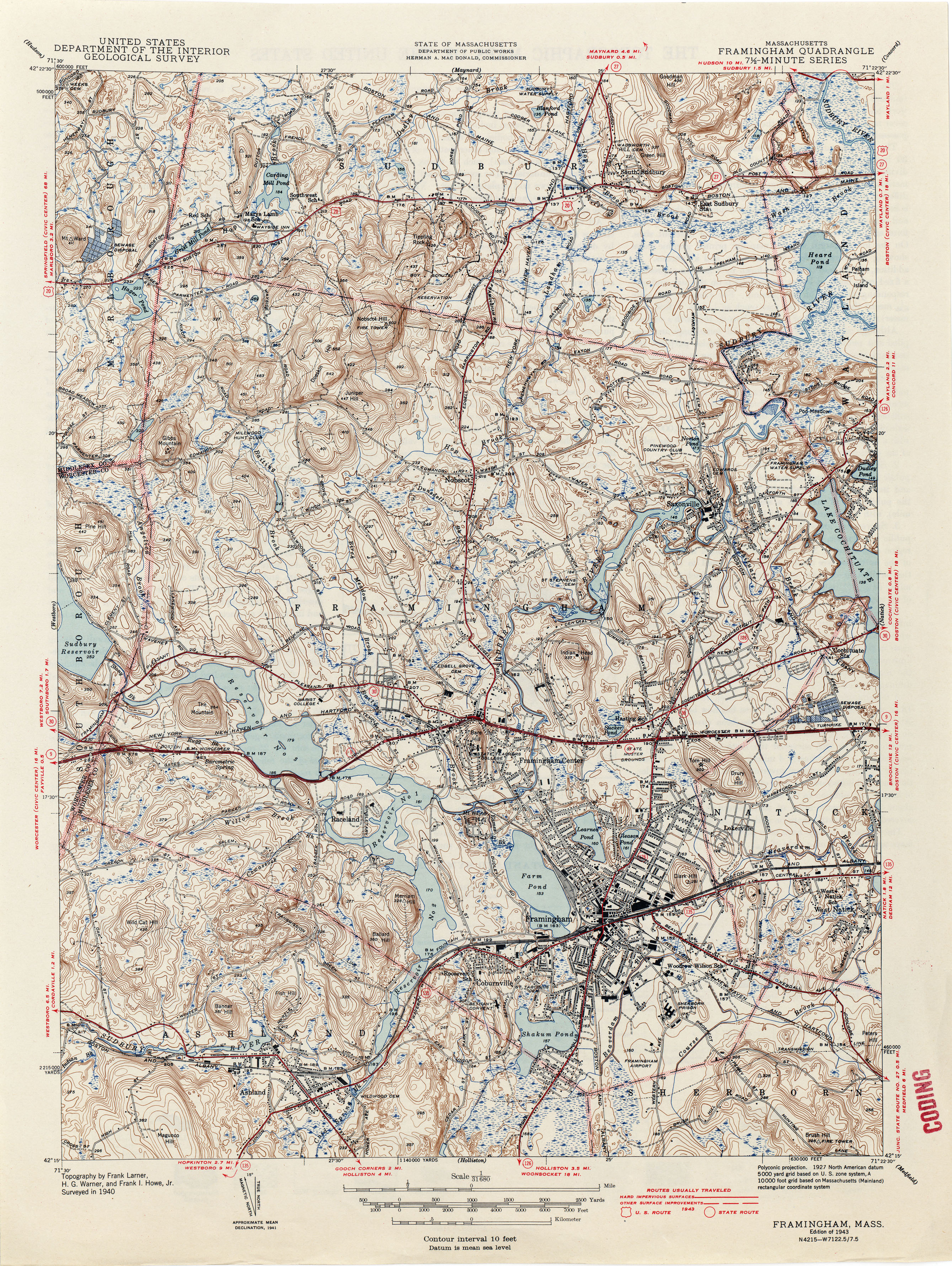Massachusetts Historical Topographic Maps Perry Casta 241 Eda Map Collection Ut Library Online
