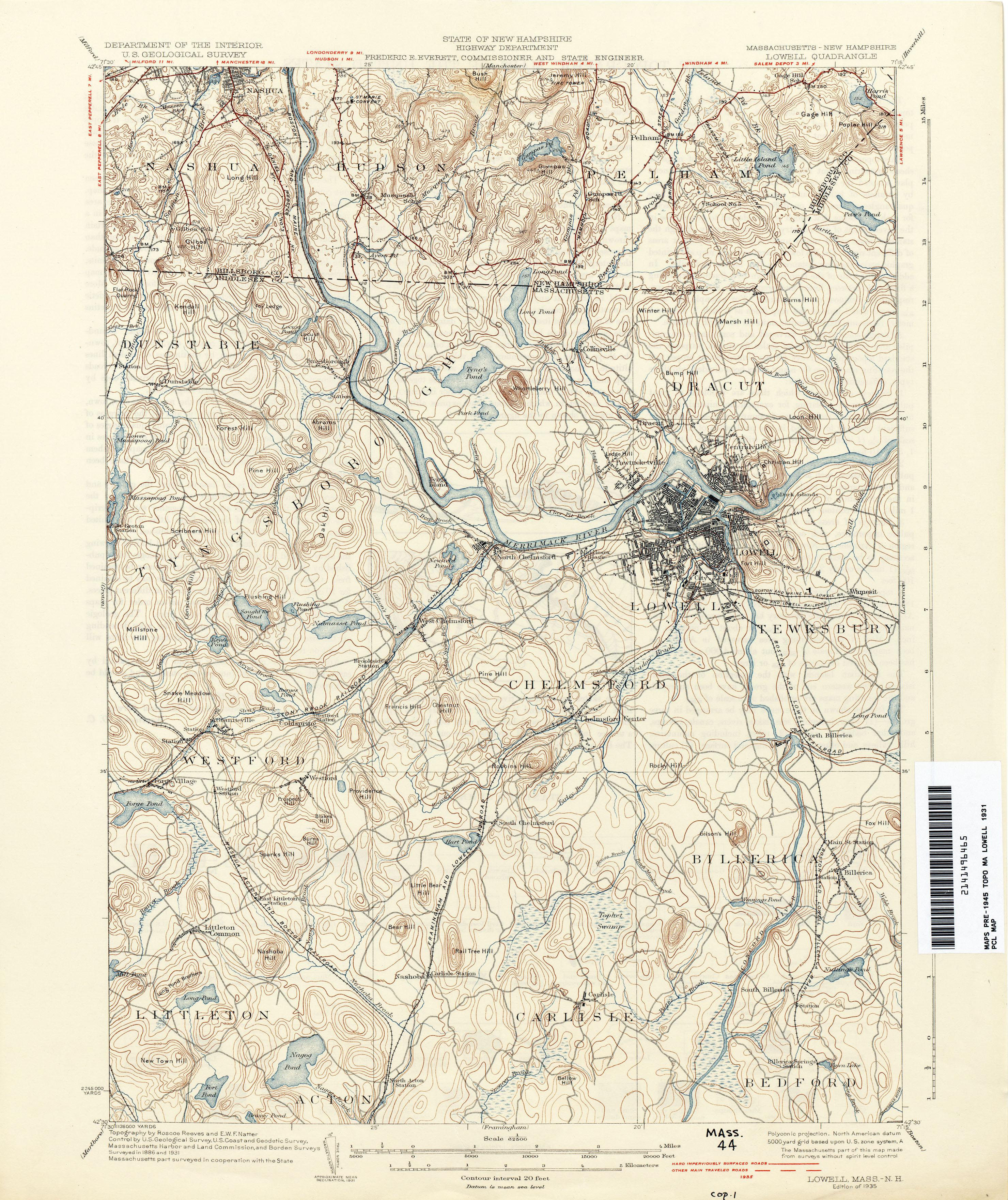 Massachusetts Historical Topographic Maps PerryCastañeda Map - Massachusetts state map