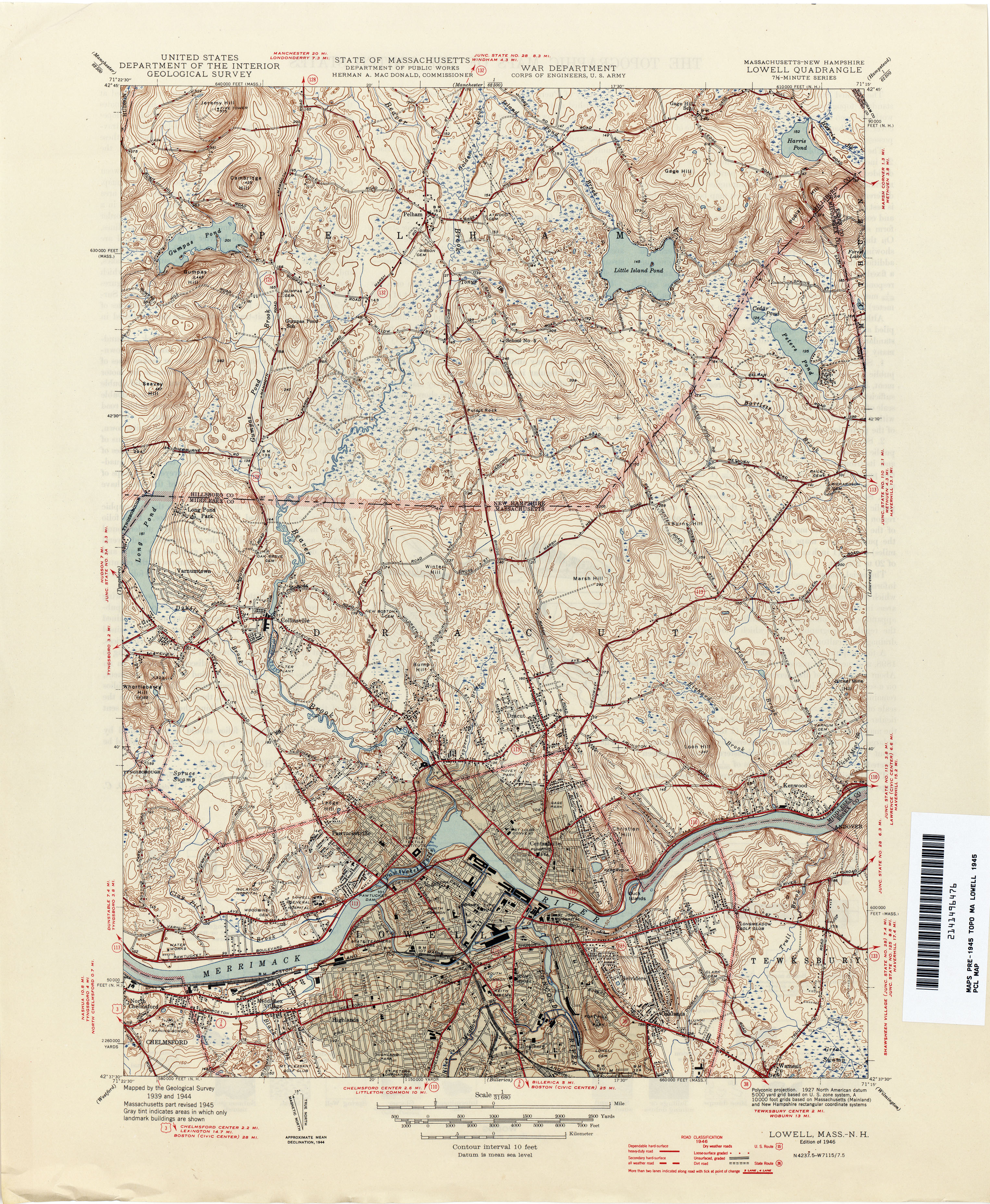 New Hampshire Topographic Maps PerryCastañeda Map Collection - New hampshire city map