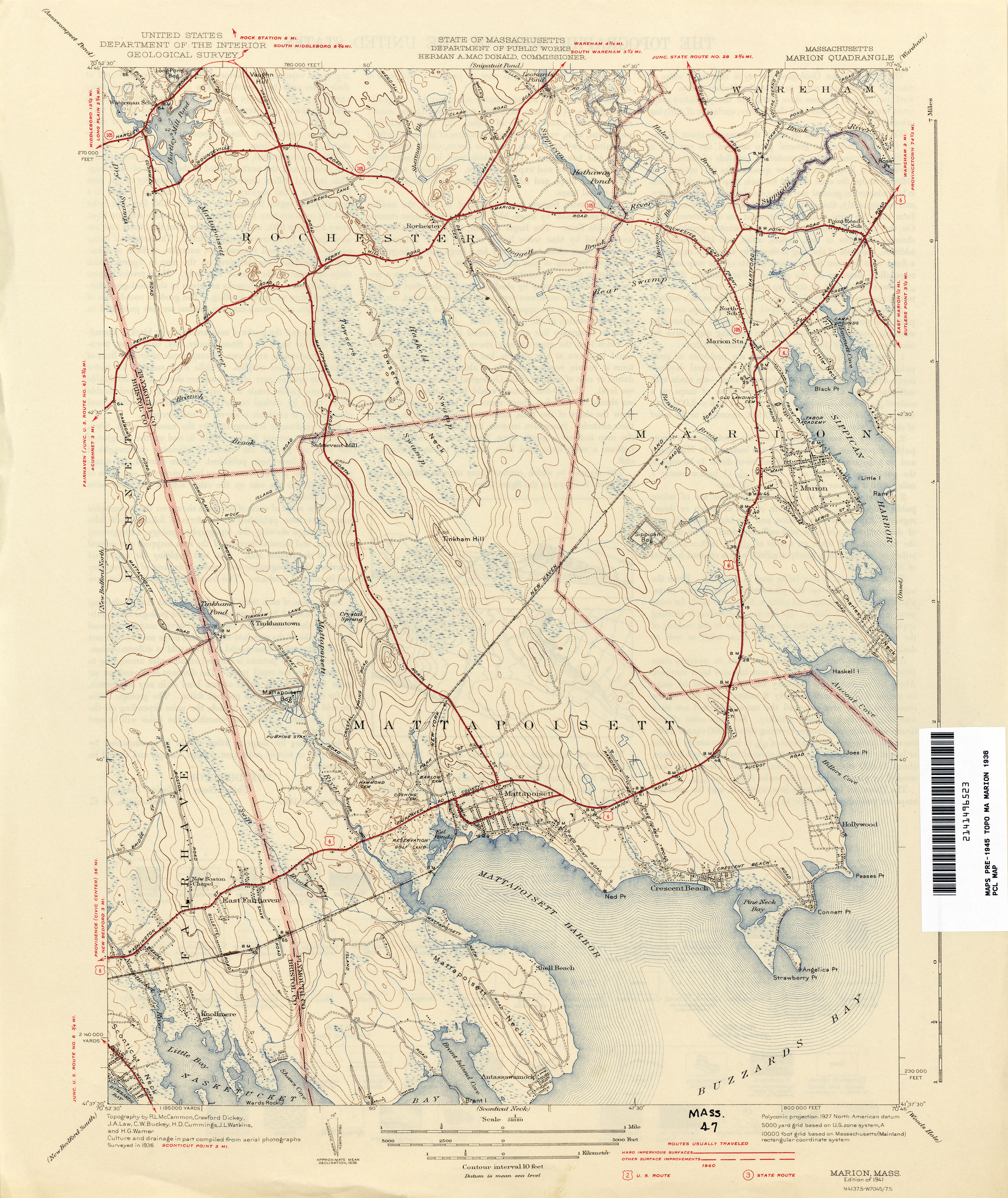 Massachusetts Historical Topographic Maps PerryCastañeda Map - Map mass