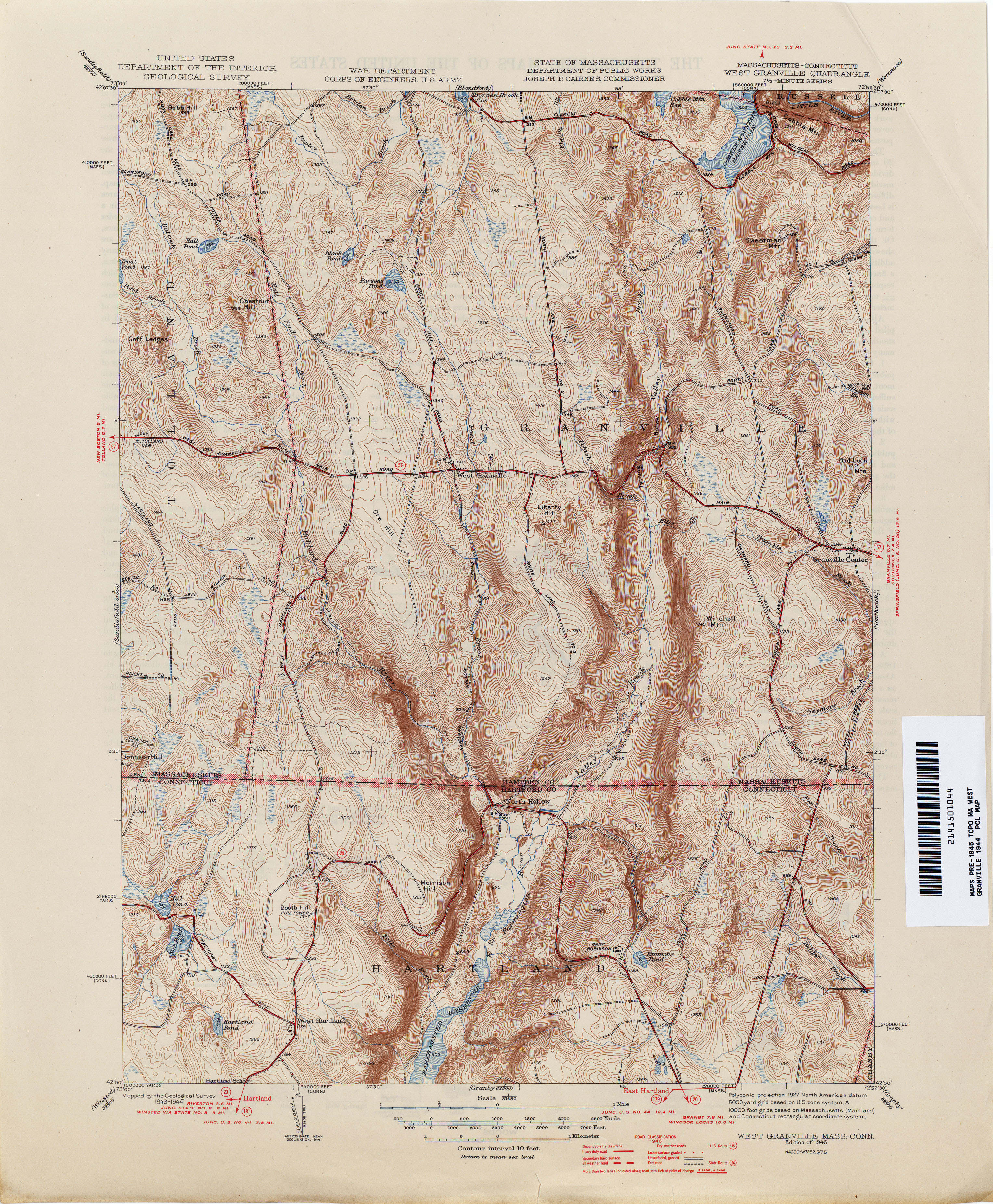 Connecticut Historical Topographic Maps PerryCastañeda Map - Us topografic maps