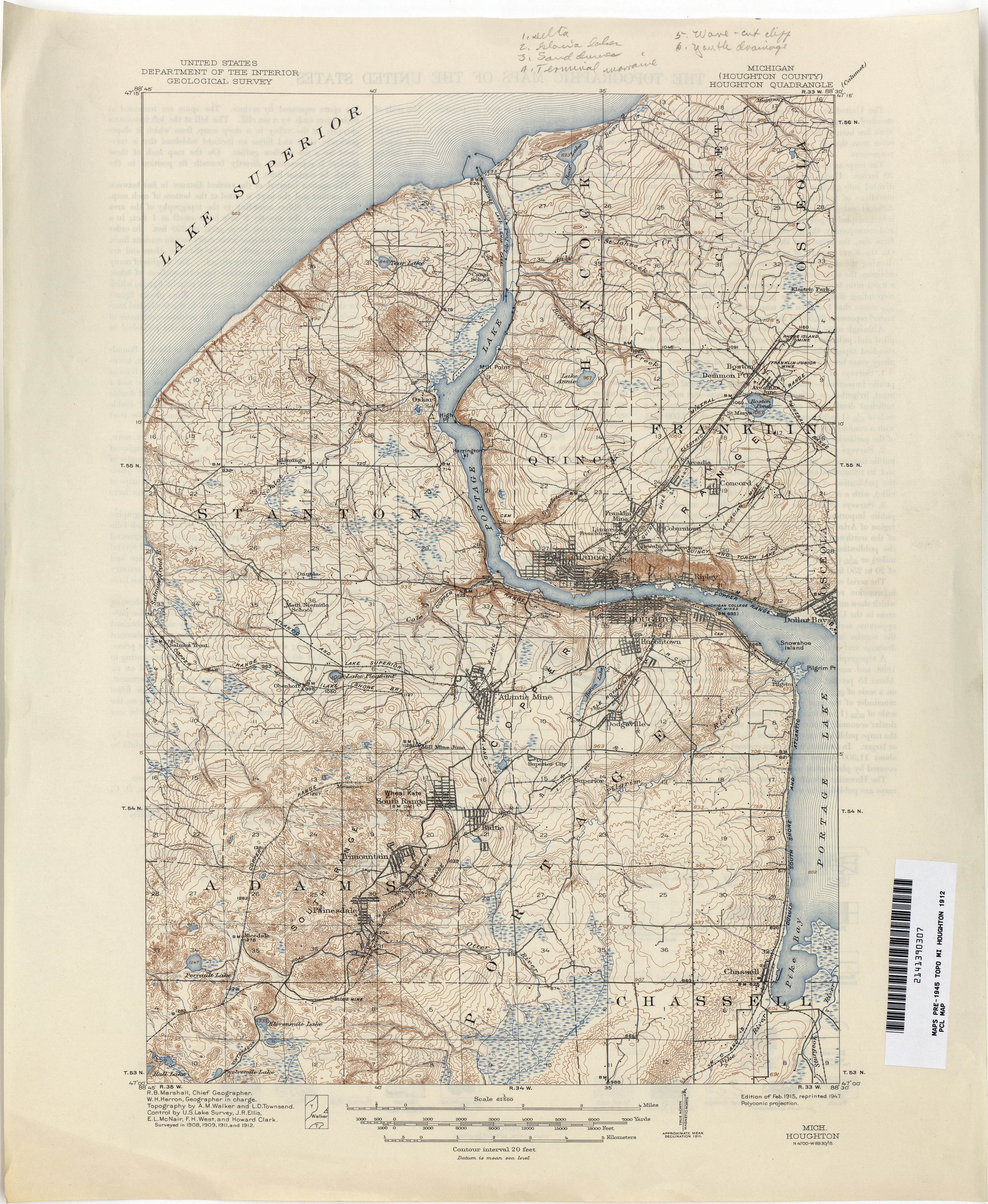Historical Topographic Maps PerryCastaeda Map Collection UT