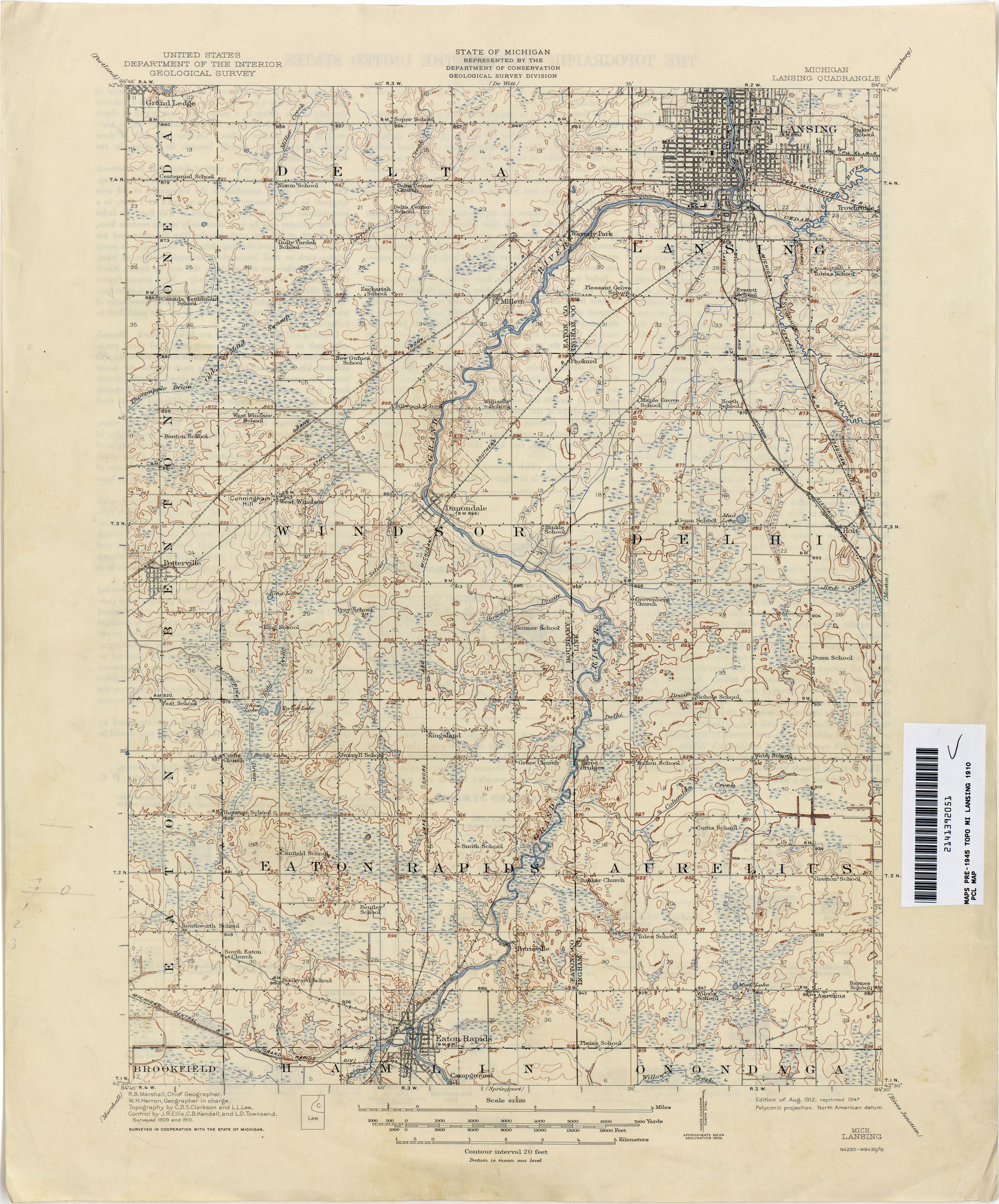 Historical Topographic Maps - Perry-Castañeda Map Collection - UT ...