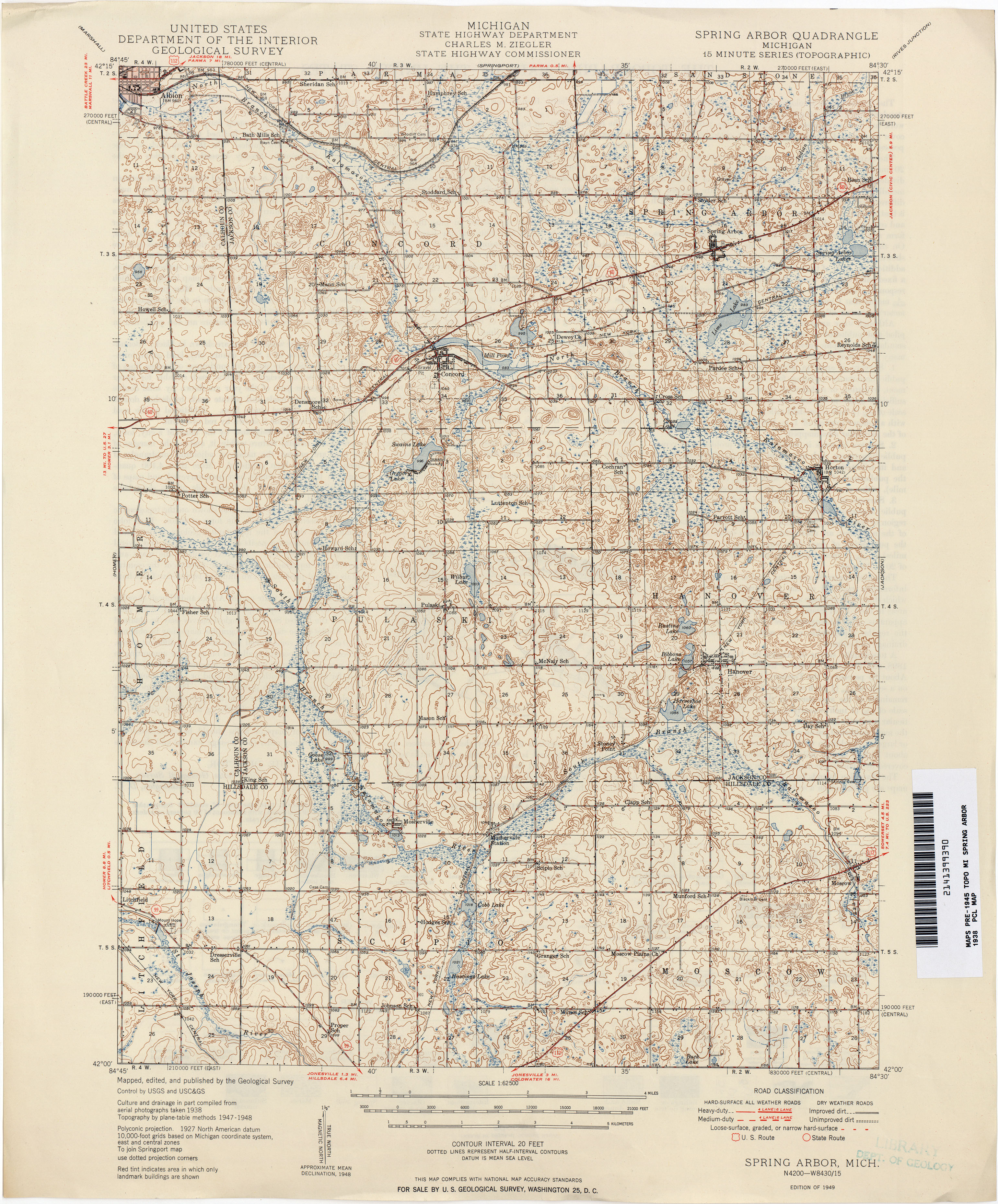 Historical Topographic Maps PerryCastañeda Map Collection UT - Ann arbor michigan map