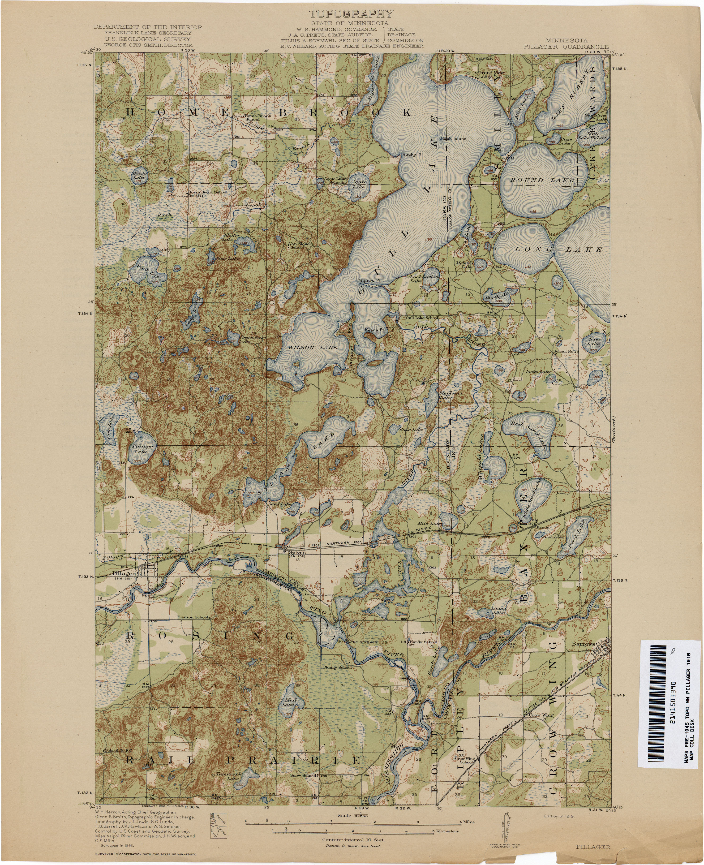 Minnesota Historical Topographic Maps - Perry-Castañeda Map ... on
