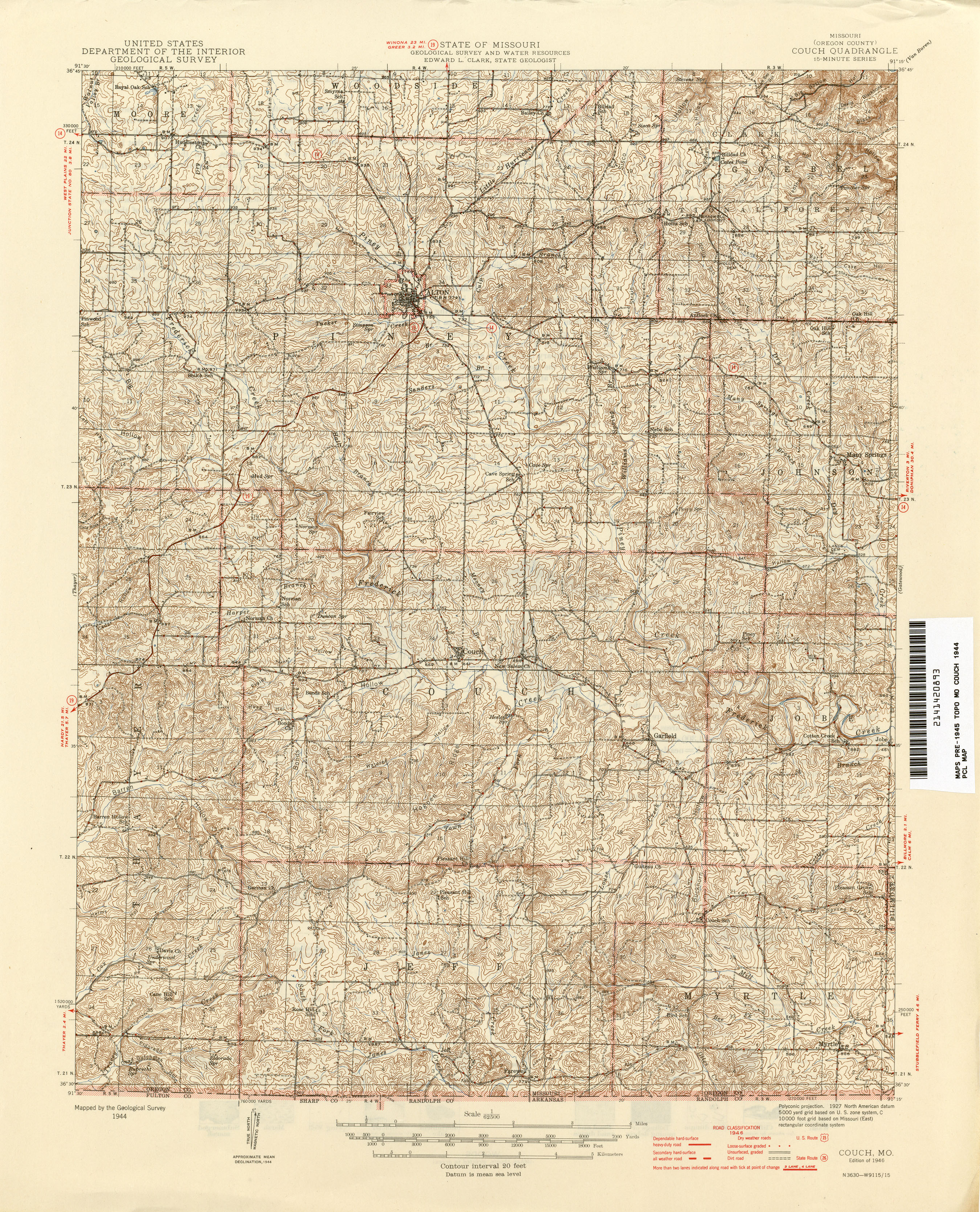 Missouri historical topographic maps perry castaeda map missouri historical topographic maps sciox Image collections