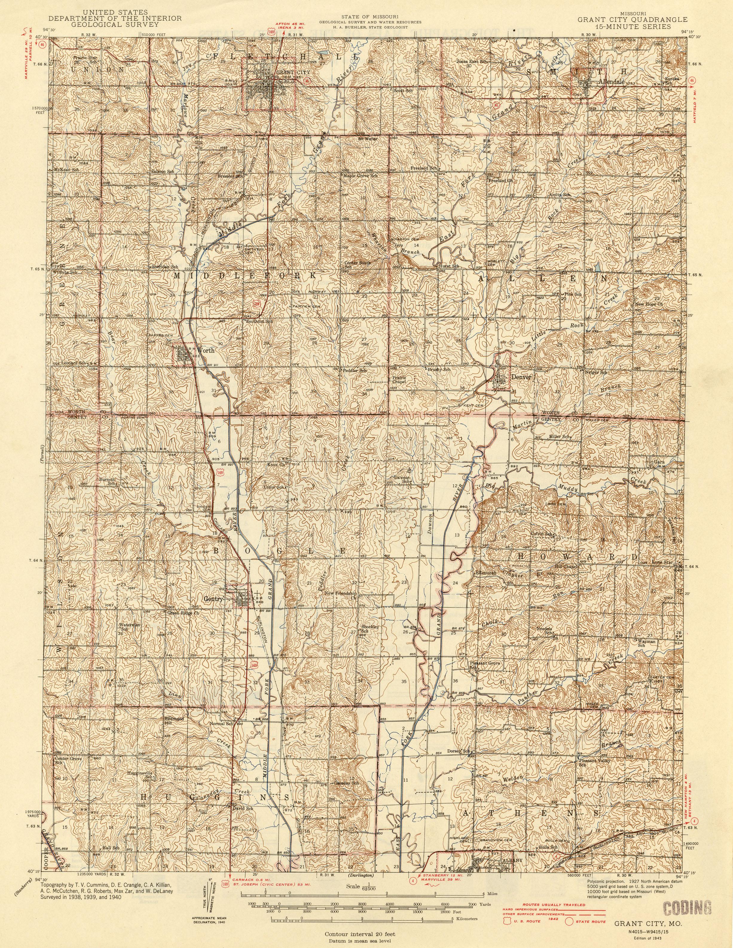 Missouri Historical Topographic Maps Perry Castaneda Map