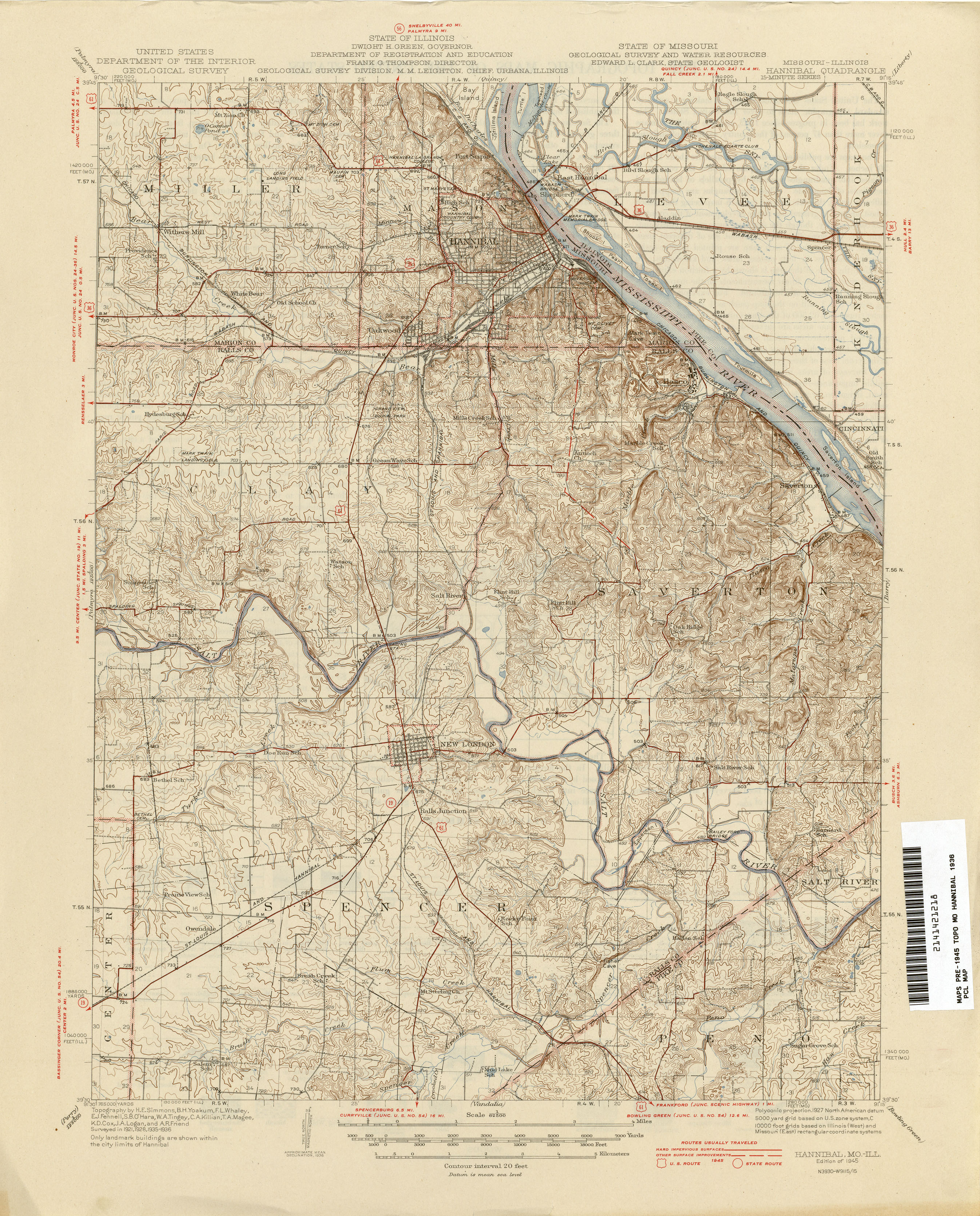 Illinois Historical Topographic Maps PerryCastañeda Map - Map of mo