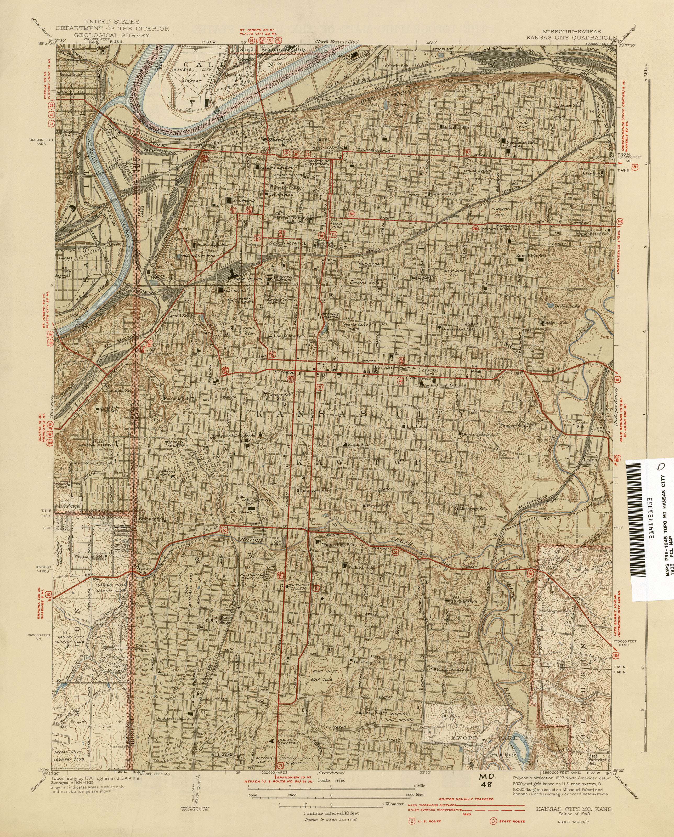Kansas Historical Topographic Maps - Perry-Castañeda Map ... on salina ks map online, salina kansas, interactive map of salina ks streets,