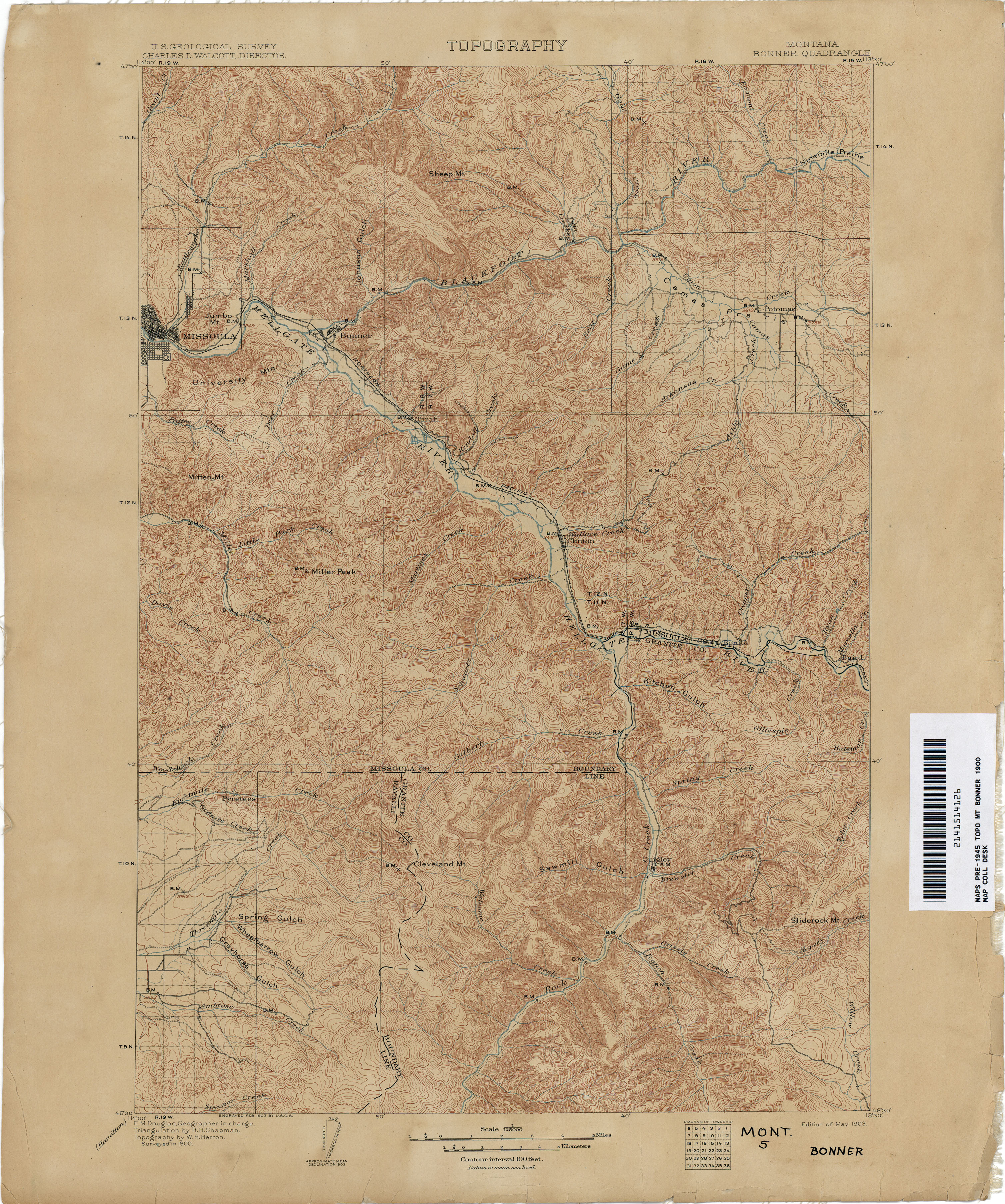 Kirwin Wyoming Map.Montana Topographic Maps Perry Castaneda Map Collection Ut