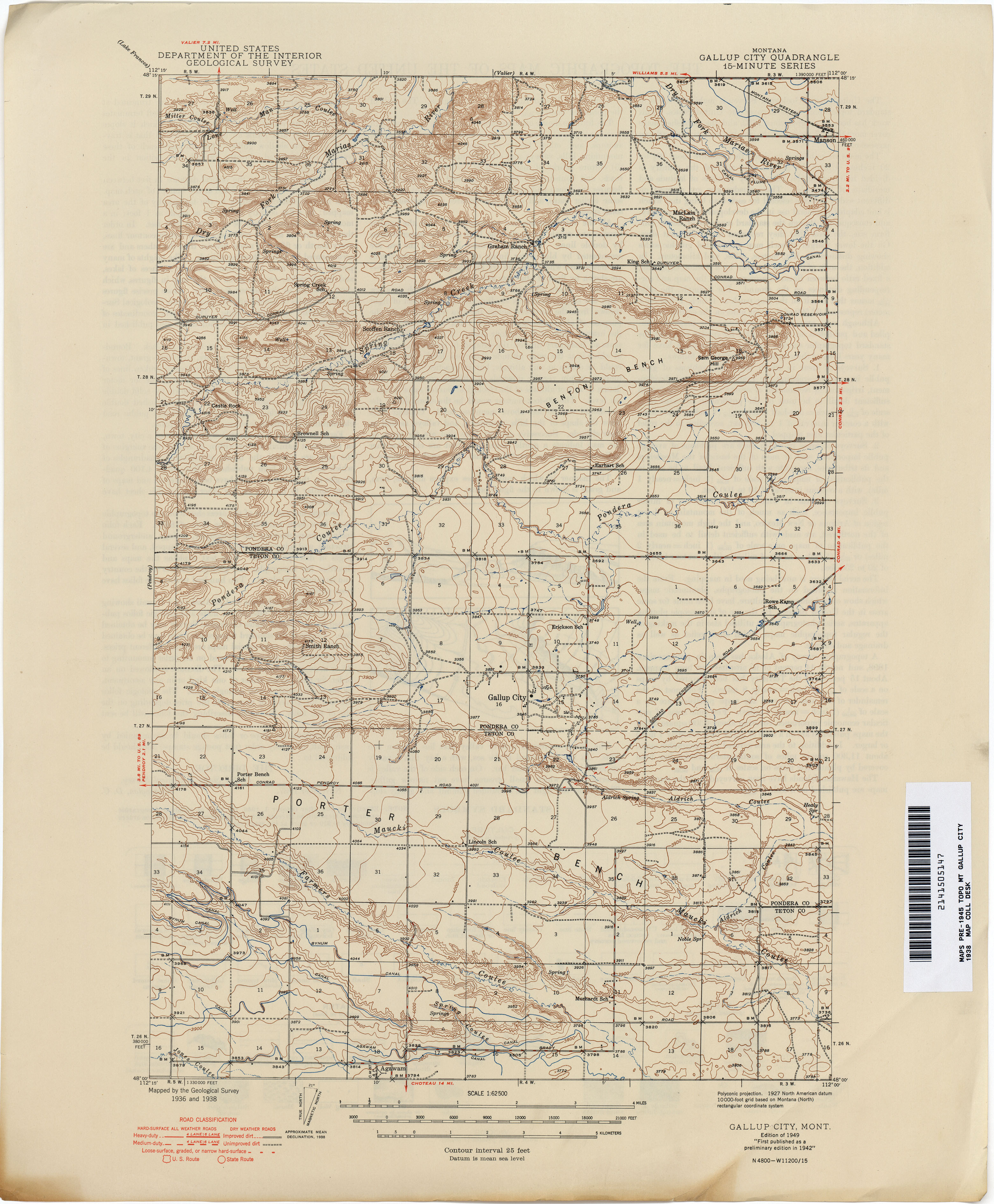 Montana Topographic Maps PerryCastañeda Map Collection UT - City map of montana