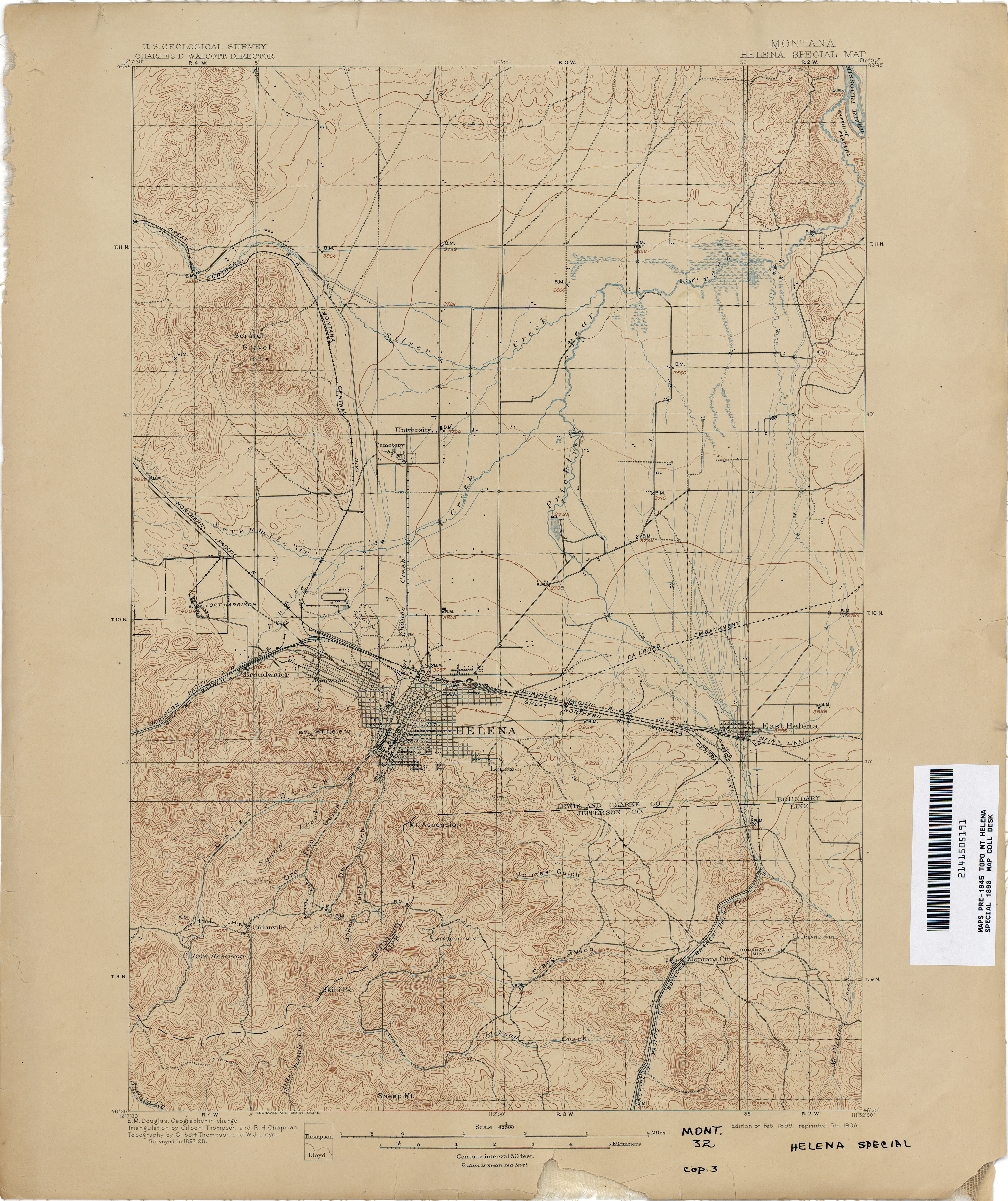 Montana Topographic Maps Perry Casta Eda Map Collection Ut  -> Tok Ak Street Map