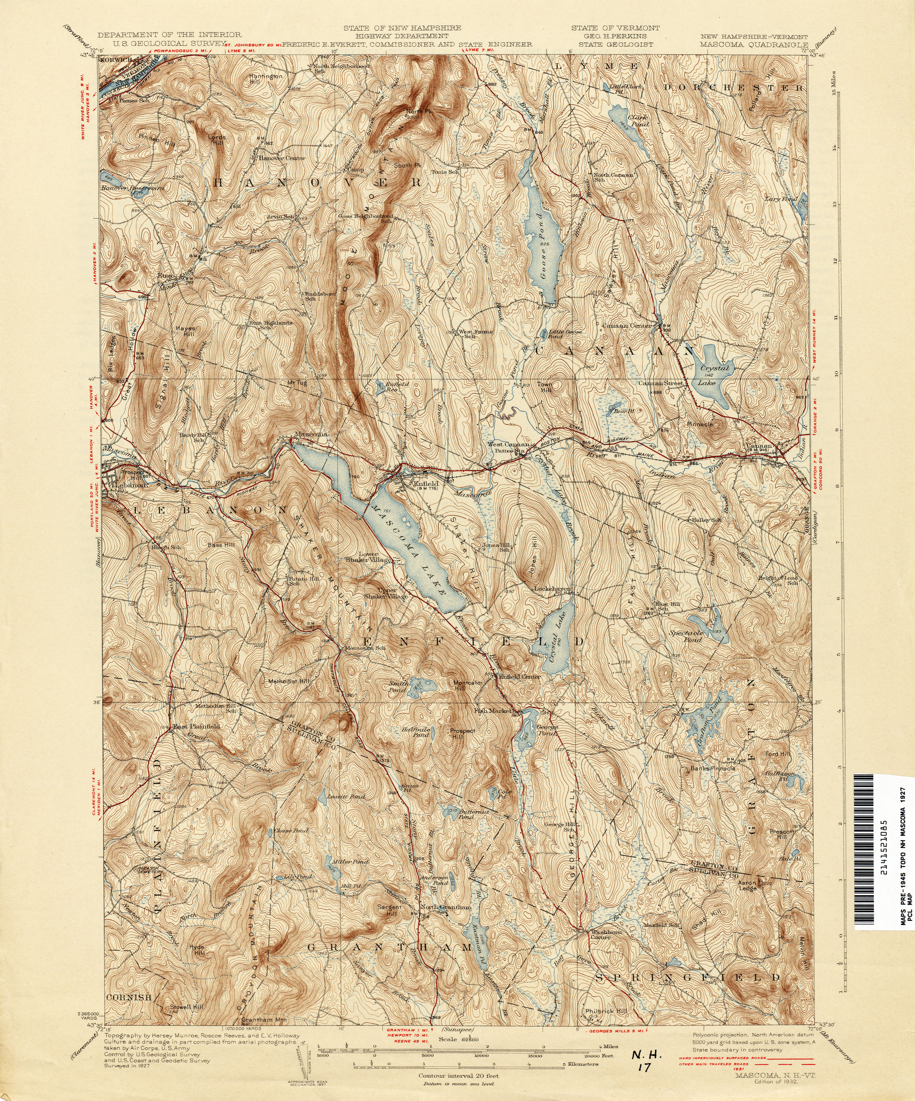 Vermont Historical Topographic Maps PerryCastañeda Map - Sweden new map