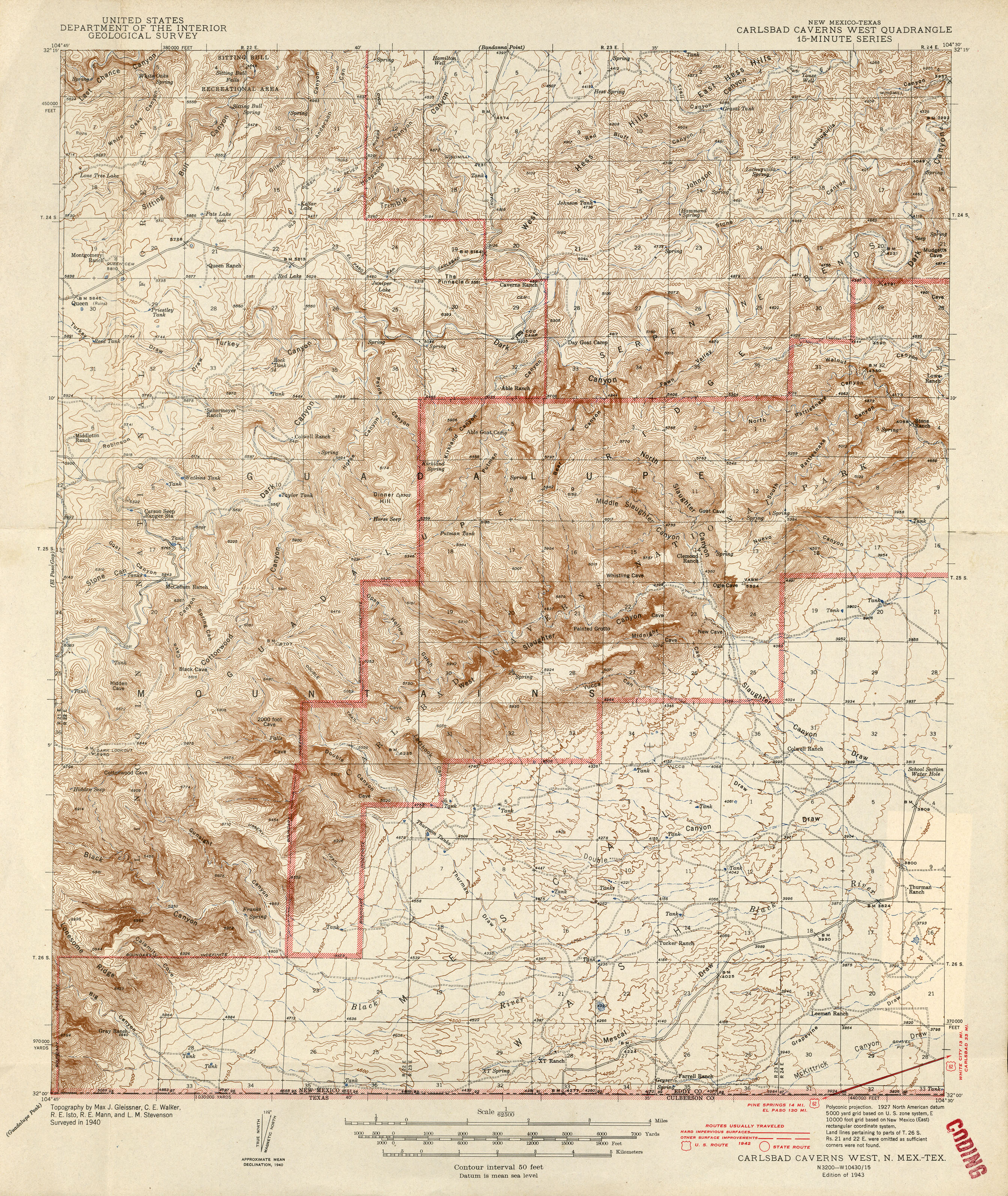 New Mexico Historical Topographic Maps PerryCastañeda Map - Us geological topographic maps