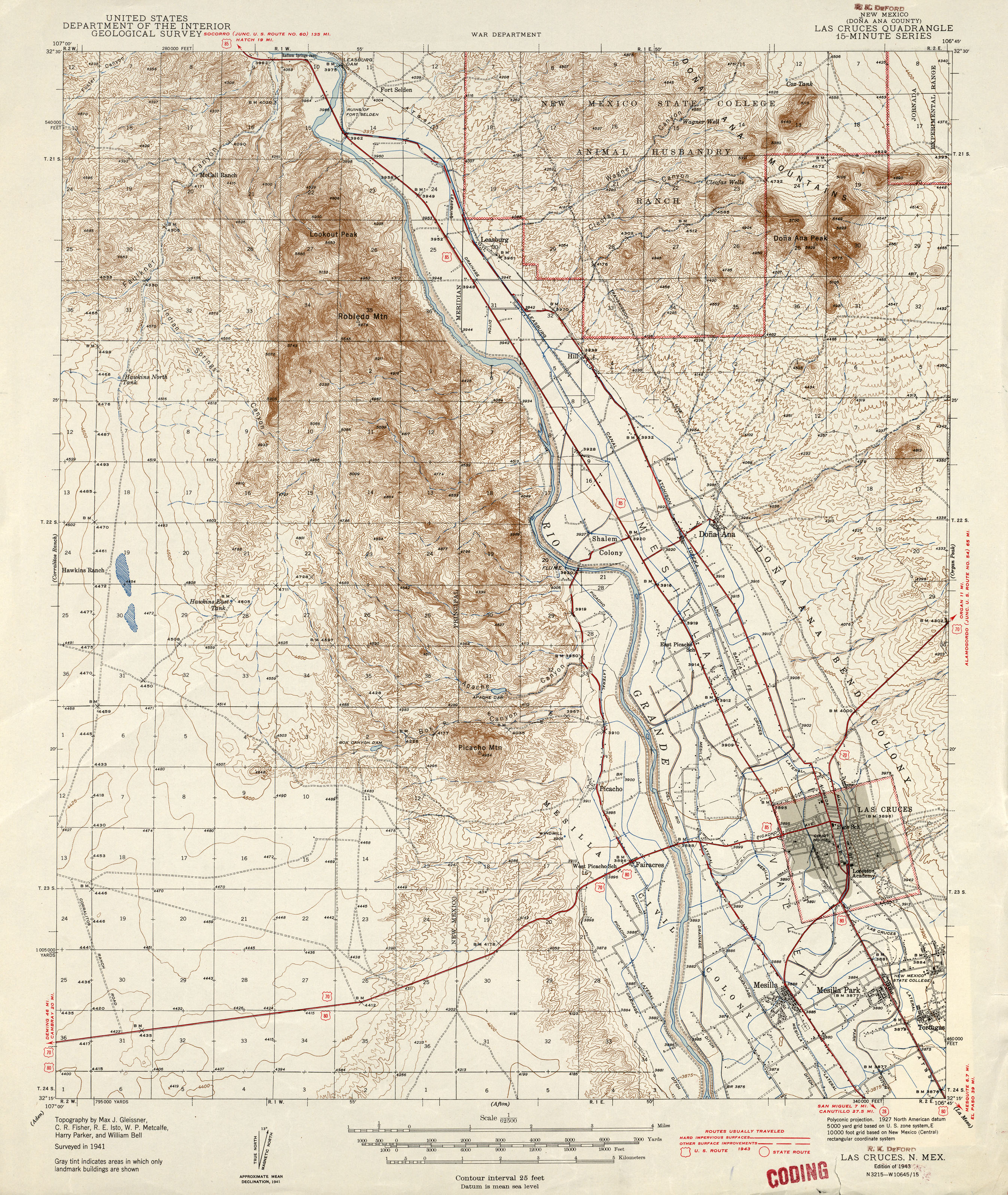 New Mexico Historical Topographic Maps